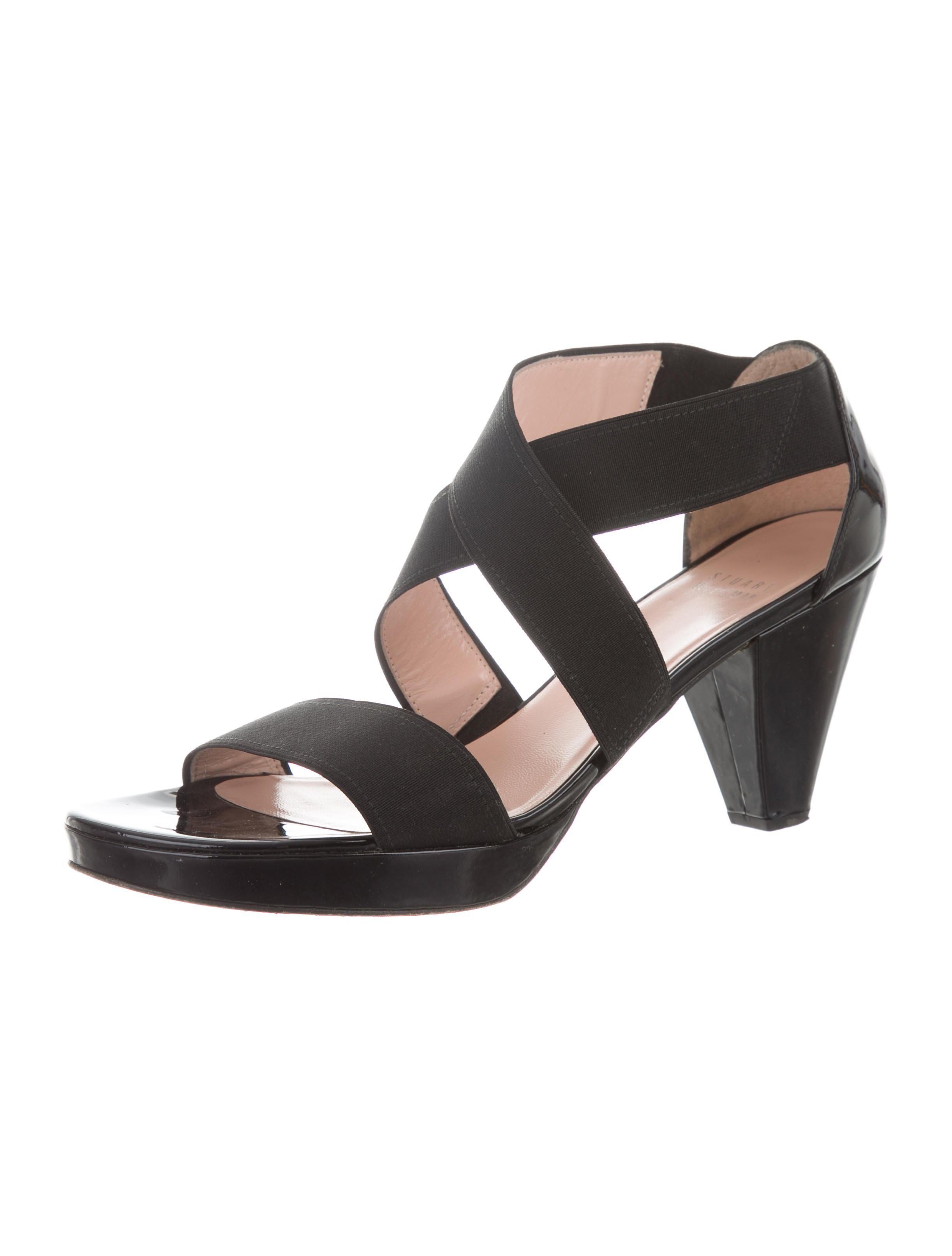 Stuart Weitzman woven Crossover Sandals cheap 2014 new free shipping outlet locations YUyInr
