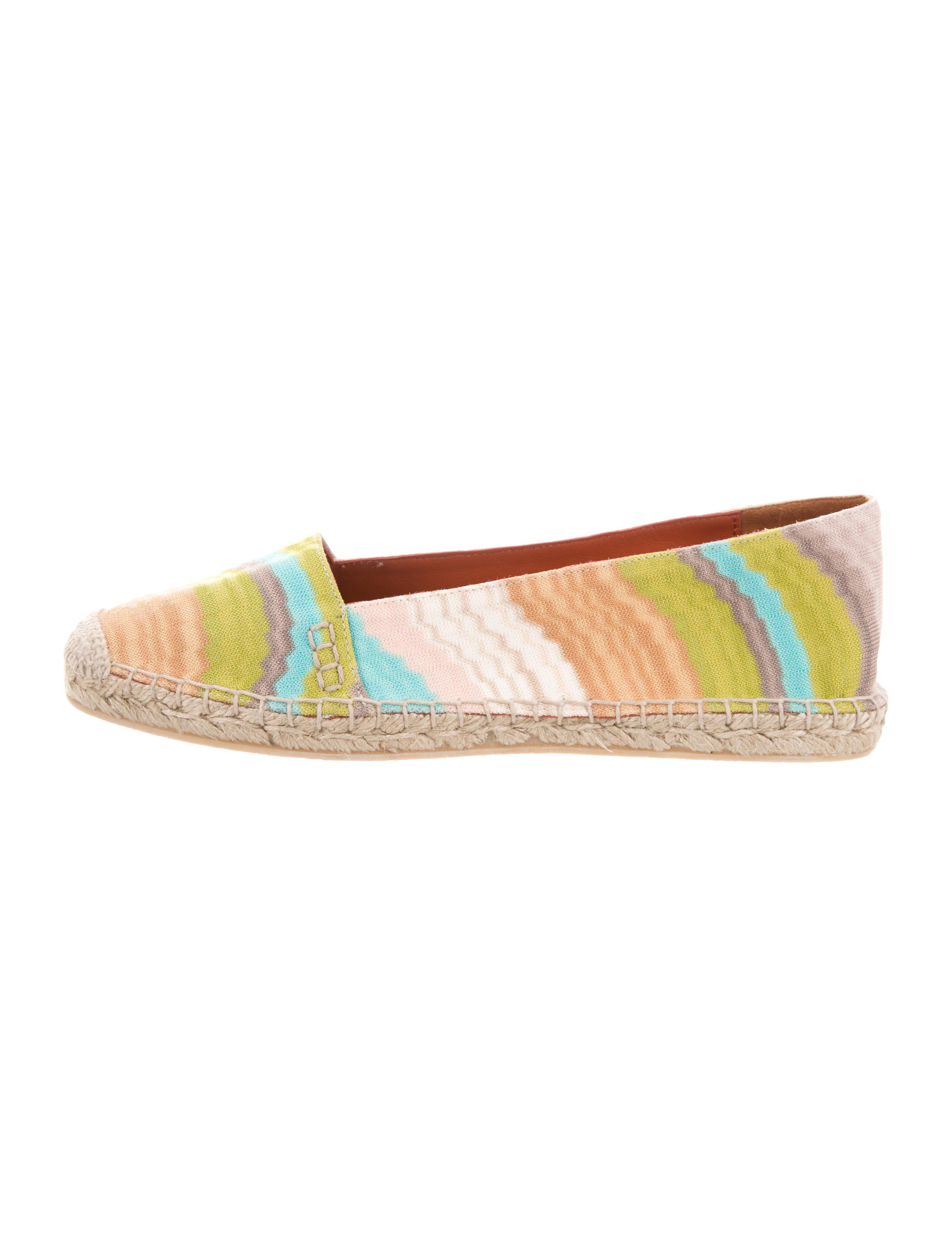discount limited edition outlet from china Missoni Woven Espadrille Flats w/ Tags cheap sale low cost amazon gxaOXNen