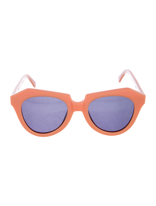 0d06575ae2af Karen Walker. Women s Number One Acetate Sunglasses Orange