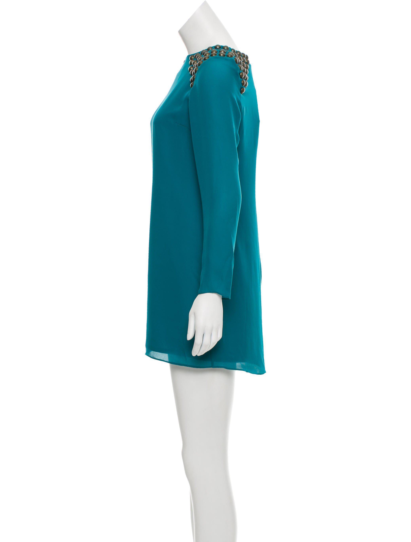 Tibi Embellished Silk Mini Dress w/ Tags Clearance Really Clearance Newest sZTh5Uyr4