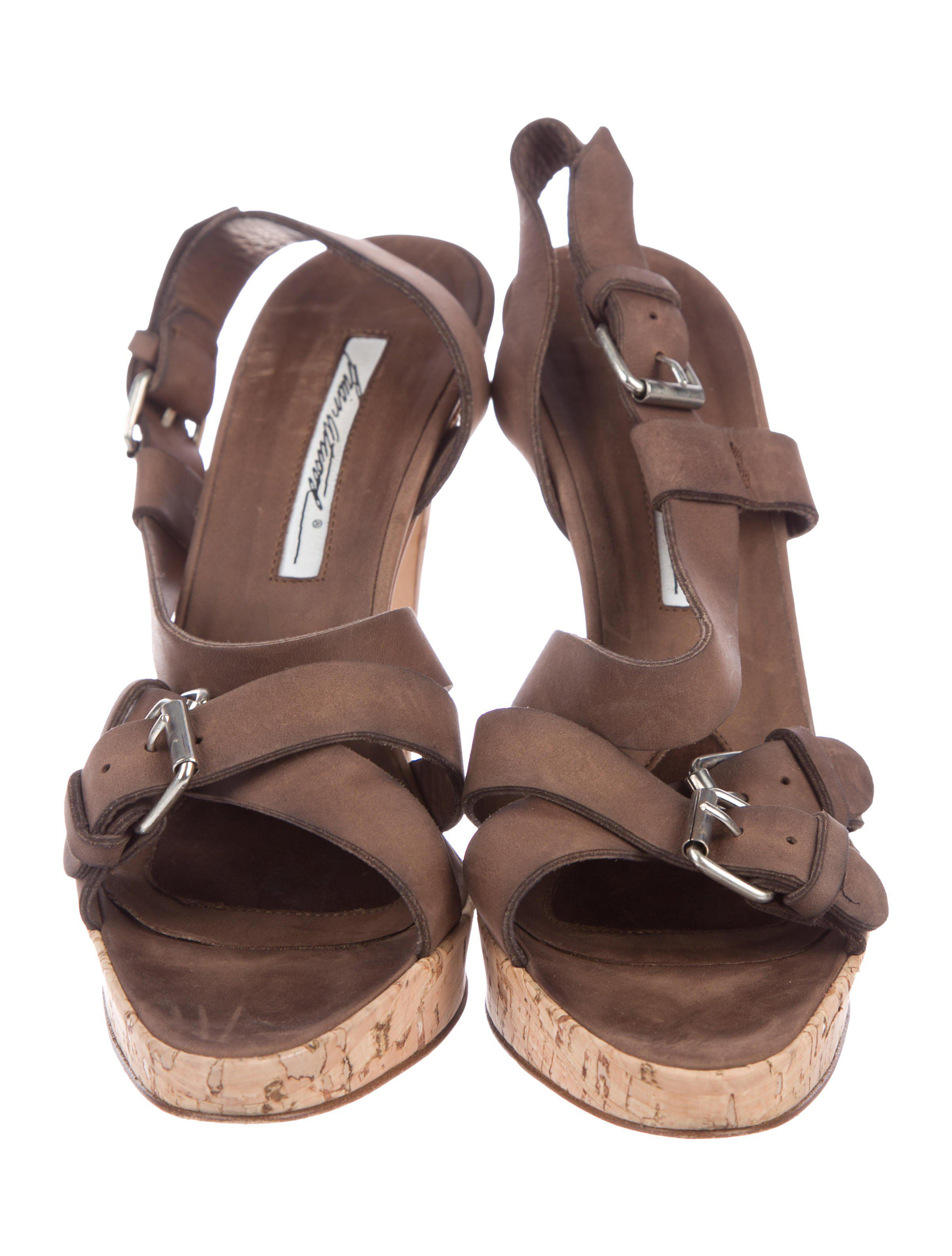 free shipping store Brian Atwood Chopper Girl Slingback Sandals limited edition cheap price KP3NFVa