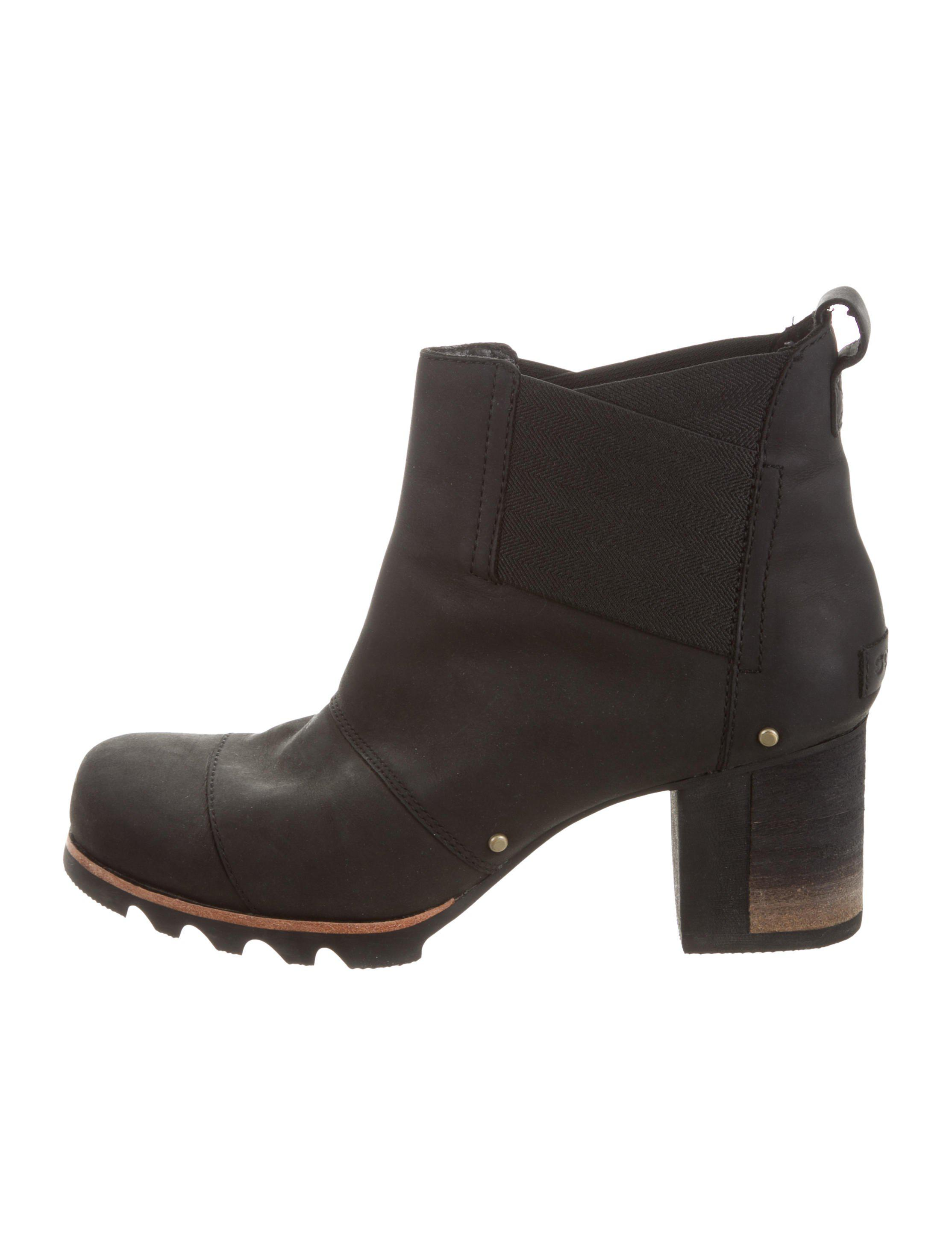 footlocker finishline cheap price discount affordable Sorel Suede Round-Toe Ankle Boots discount purchase huge surprise online clearance great deals 5kaj6nUSUO