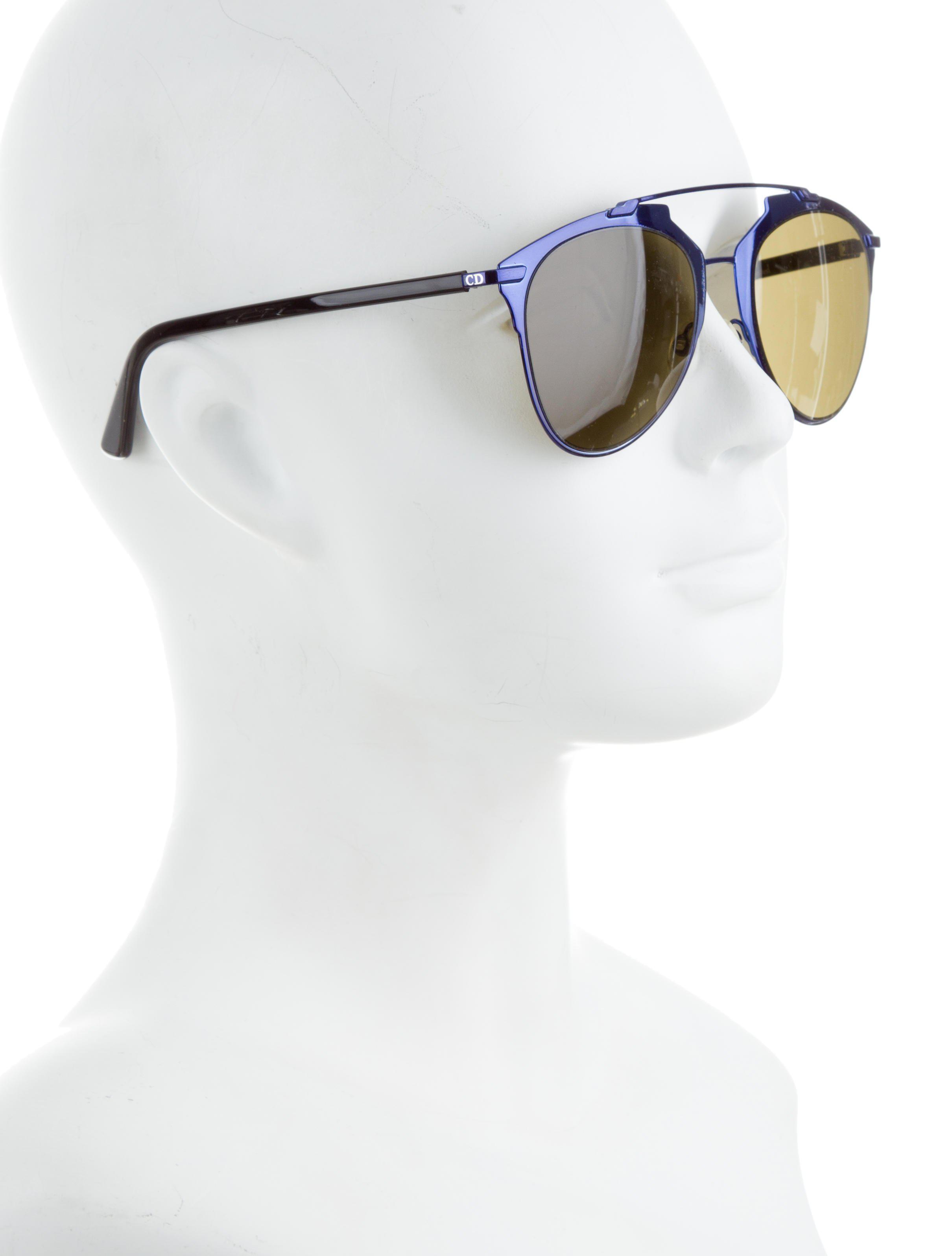 e5befd9e279 Lyst - Dior Reflected Aviator Sunglasses Indigo in Purple