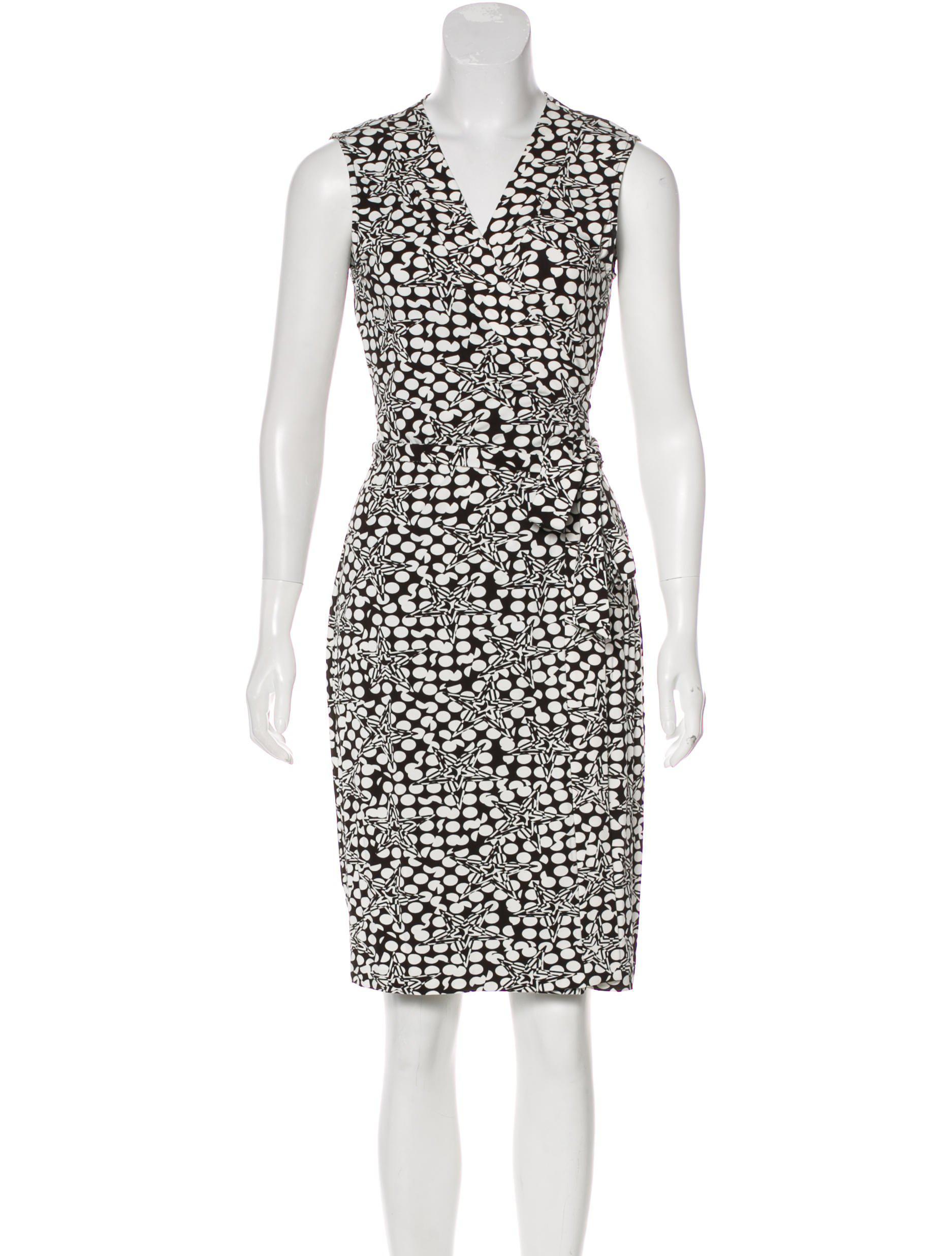 235d0166f8a7 Lyst - Diane Von Furstenberg New Yahzi Wrap Dress in Black