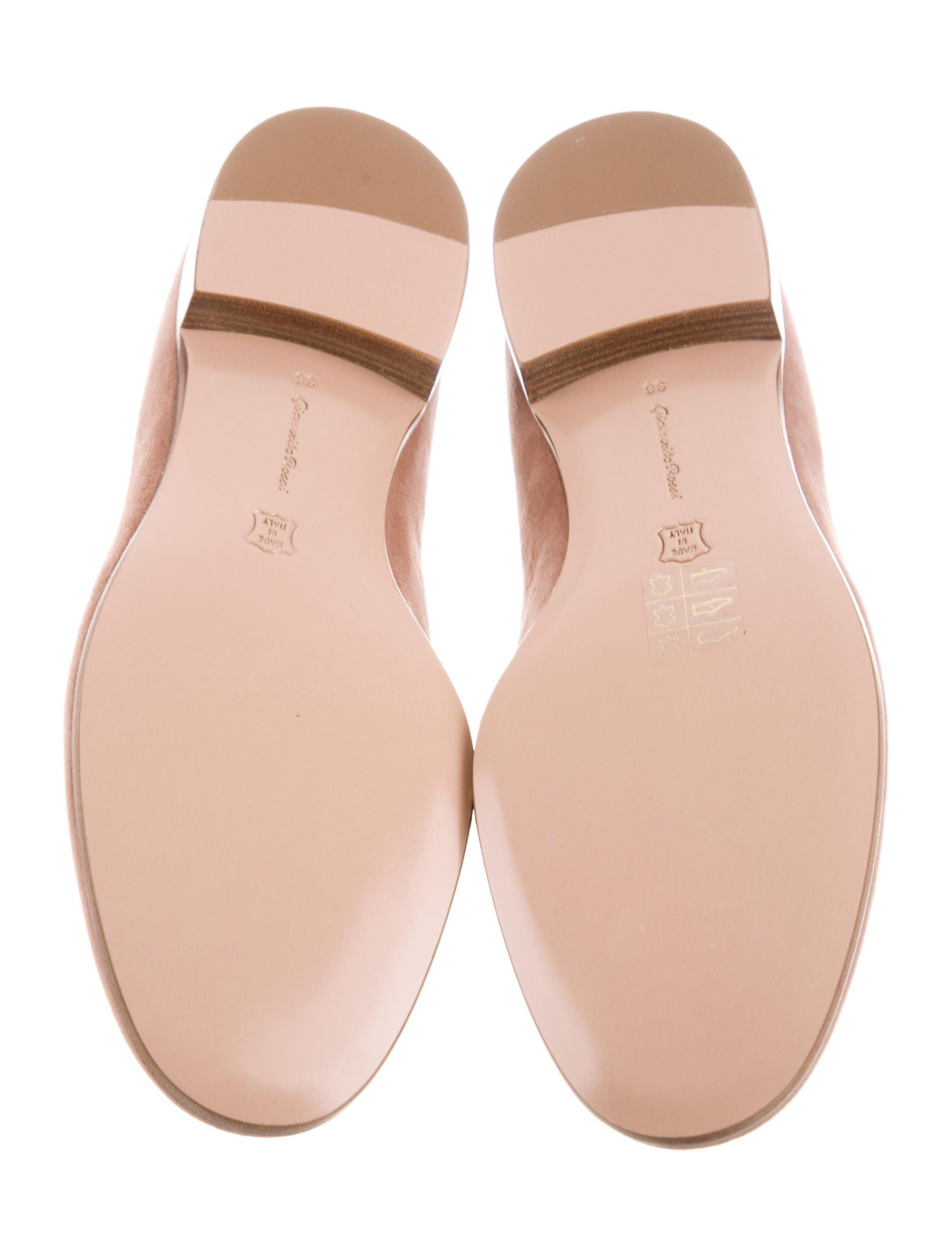 Gianvito Rossi 2017 Marcel Round-Toe Loafers w/ Tags view cheap price clearance prices collections shop for cheap low shipping fee WZe5t
