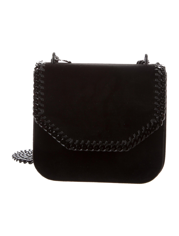 Lyst - Stella Mccartney Mini Falabella Box Bag in Black fd756dcca0469