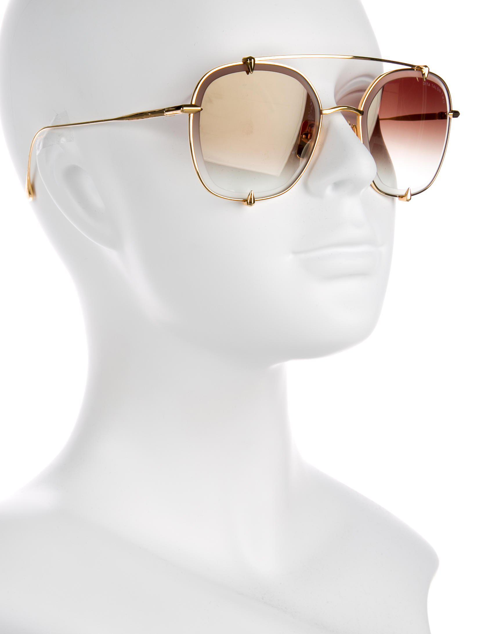 ad5a825739af Dita - Metallic Talon Two Gradient Sunglasses Gold for Men - Lyst. View  fullscreen