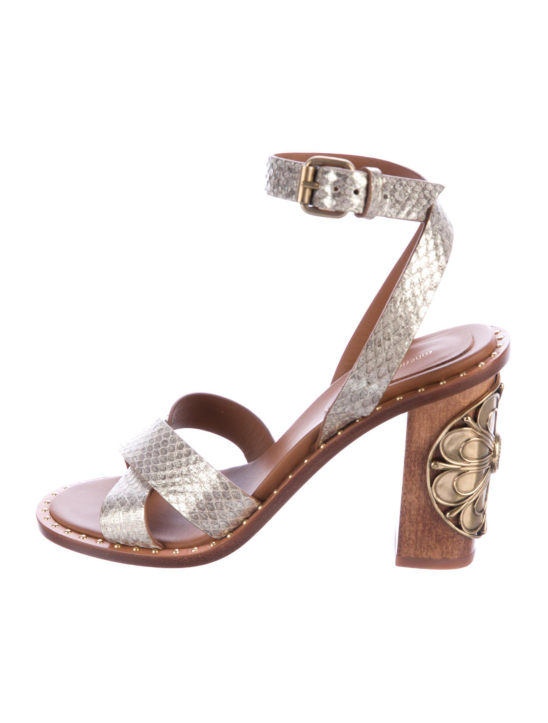 Roberto Cavalli peep toe sandals discount low shipping fee cheap price from china under 70 dollars clearance amazon really XVUn8V