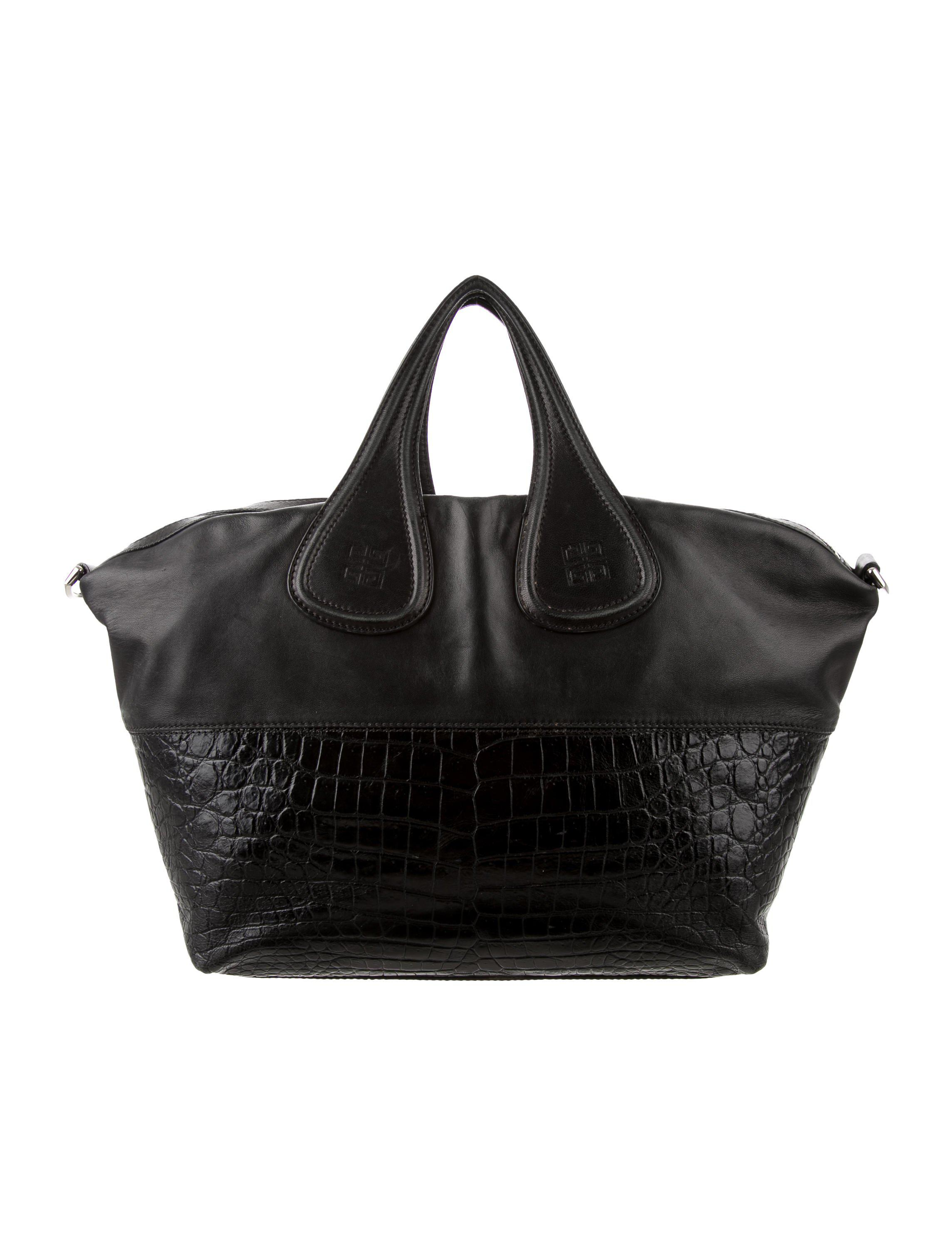 Lyst - Givenchy Medium Nightingale Bag Black in Metallic 317623a50fb26