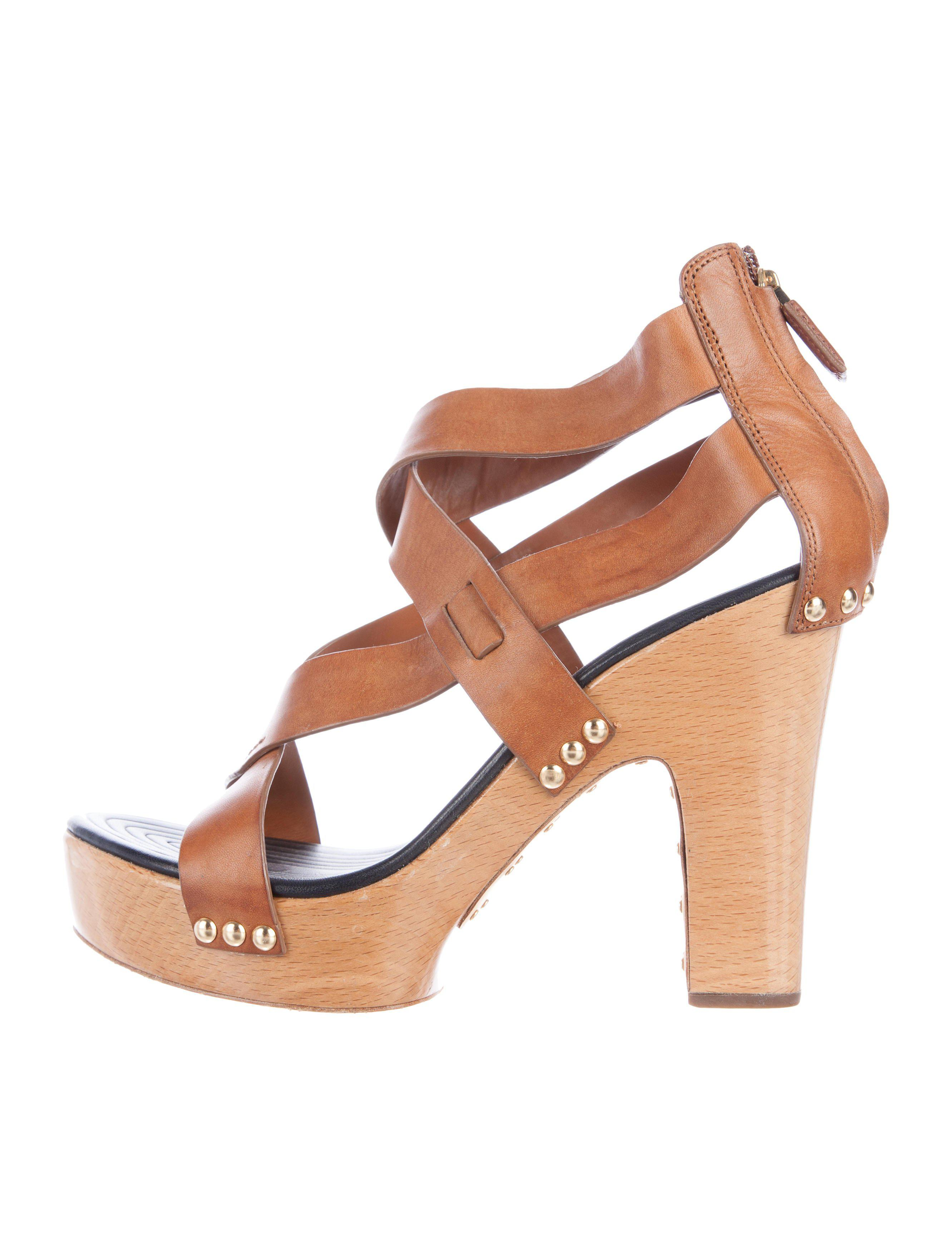 Givenchy Crossover Platform Sandals buy cheap wide range of GD7c2O9CPC