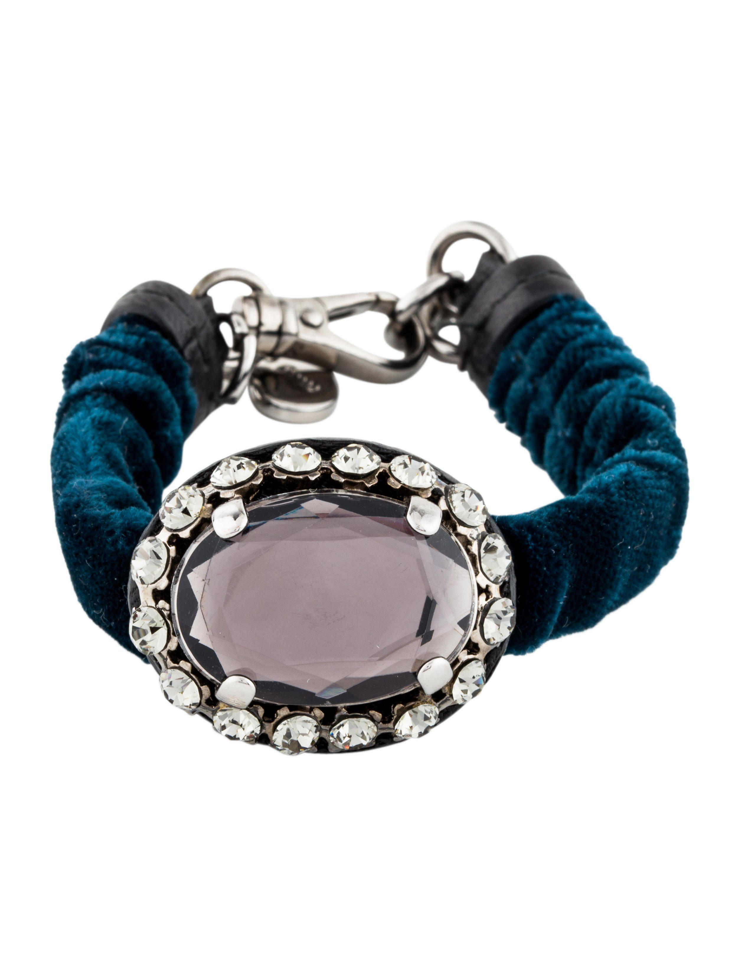 en miumiuus accessories madras bracelet leather miumiu miu bracelets l