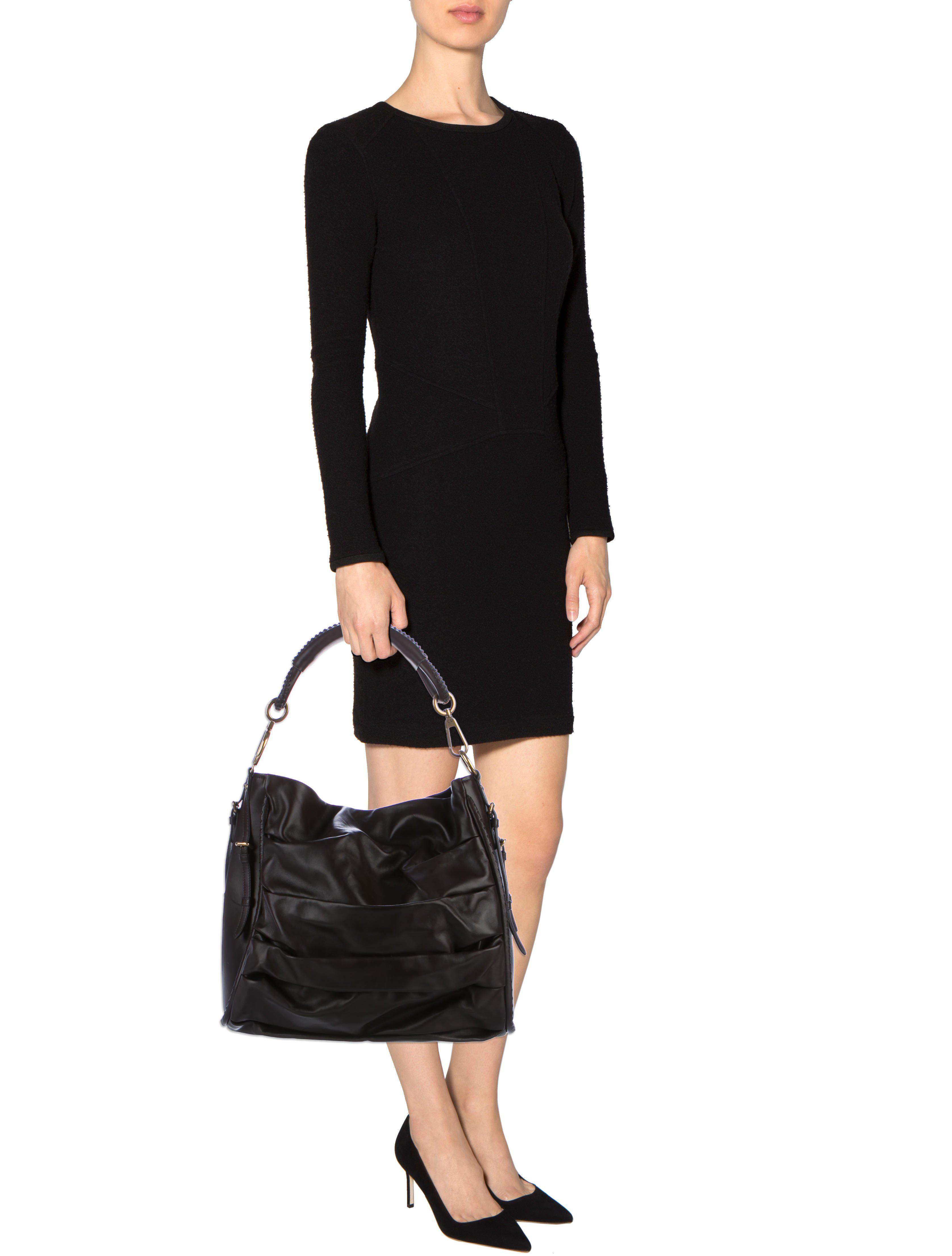 Dior Libertine Leather Hobo Gold In Metallic Lyst Ready Nwt Maya Brown