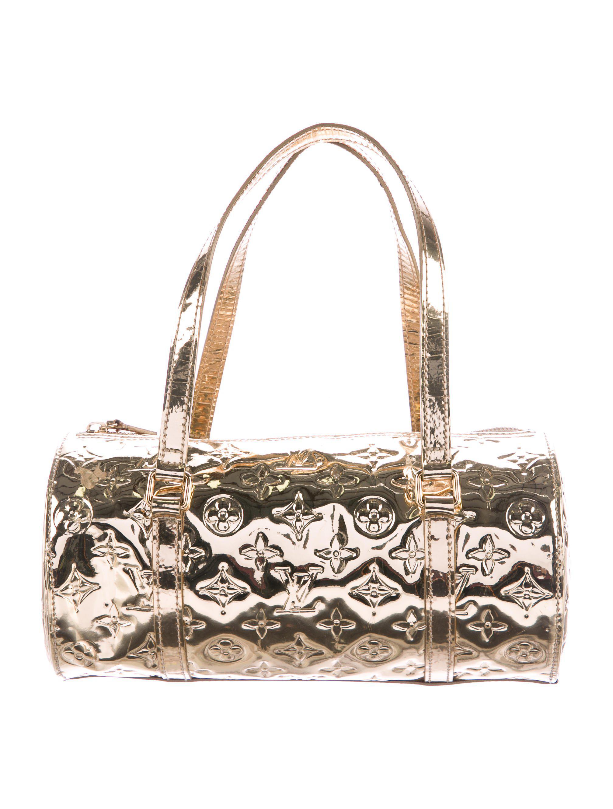 bdacbf0142 Lyst - Louis Vuitton Mirror Miroir Papillon Bag in Metallic
