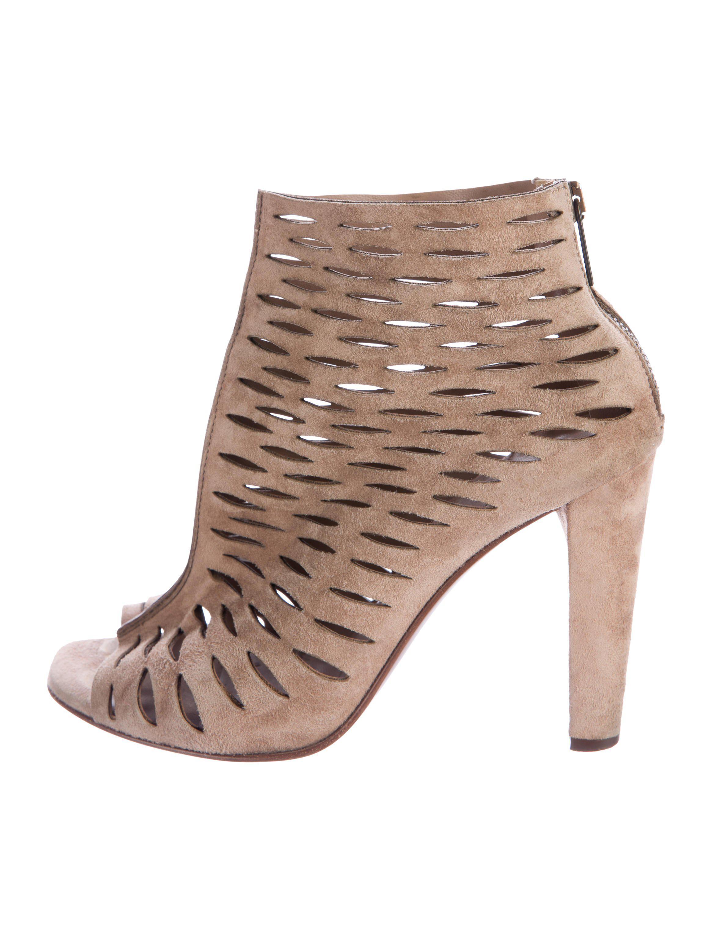 Diane von Furstenberg Alexandria Laser Cut Ankle Boots cheap sale shop offer outlet shop for good selling browse online 9l04hL