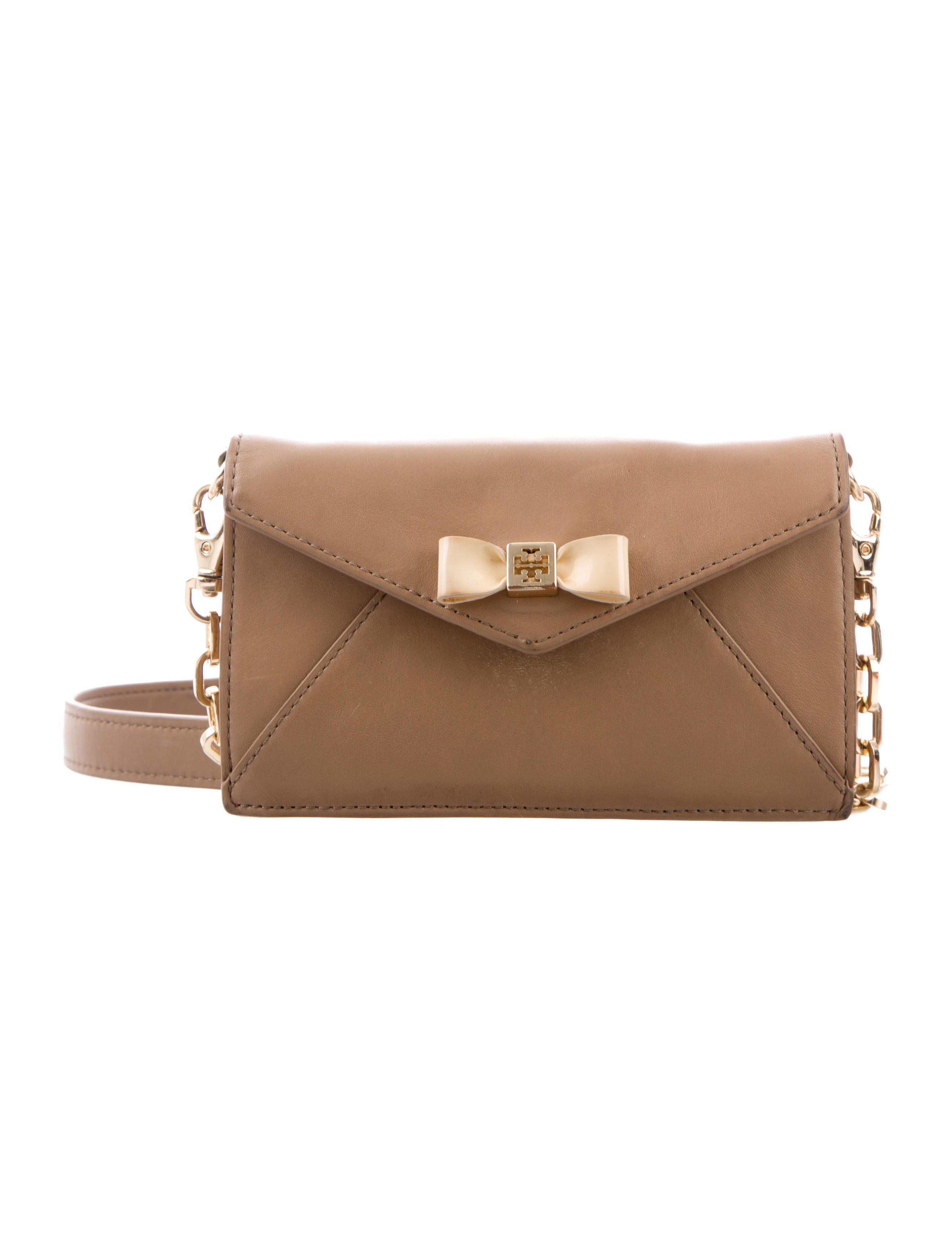 34a4f971347 Lyst - Tory Burch Wallet On Chain Crossbody Bag Beige in Metallic