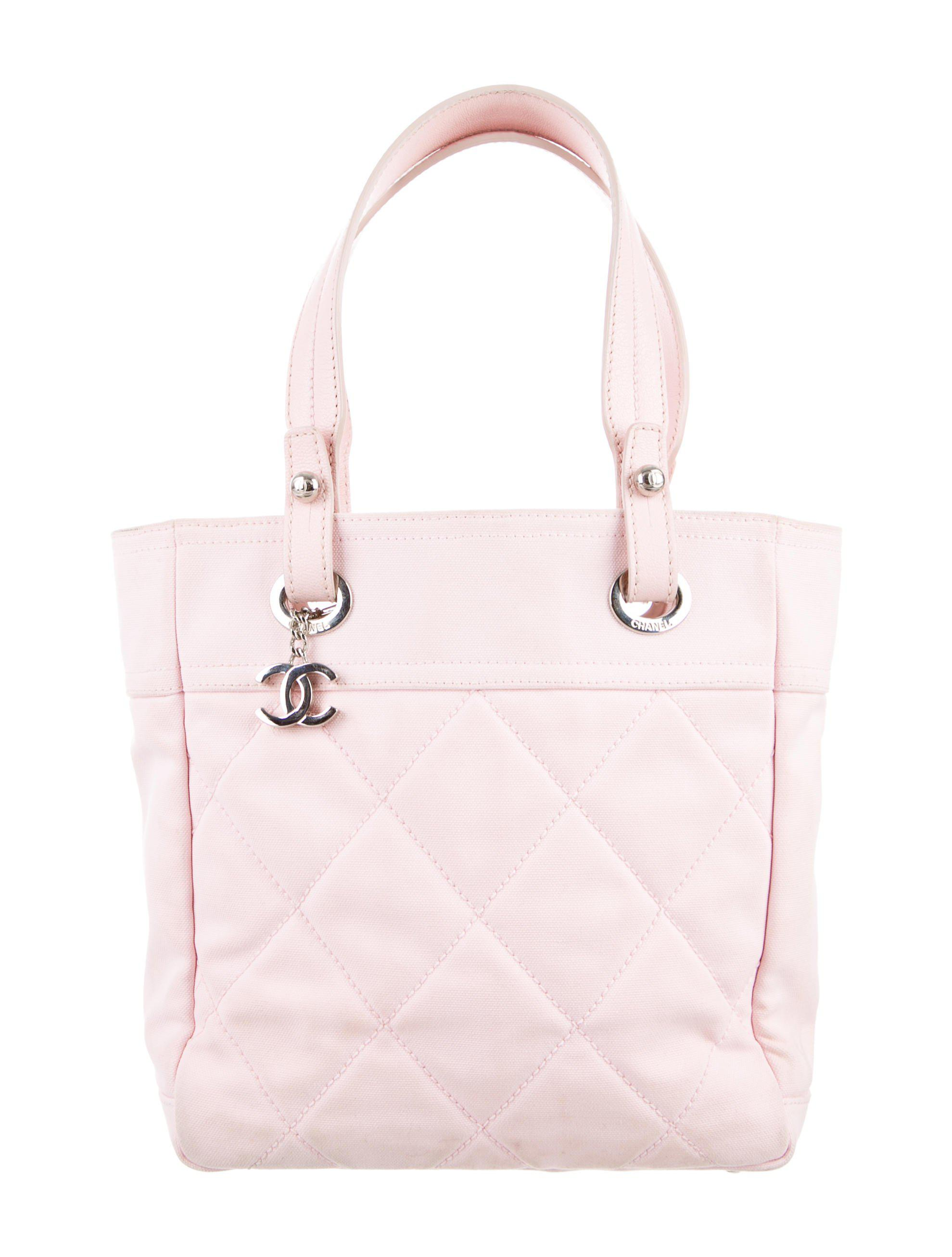 53cb5b7b5ddb Lyst - Chanel Paris-biarritz Small Tote Pink in Metallic