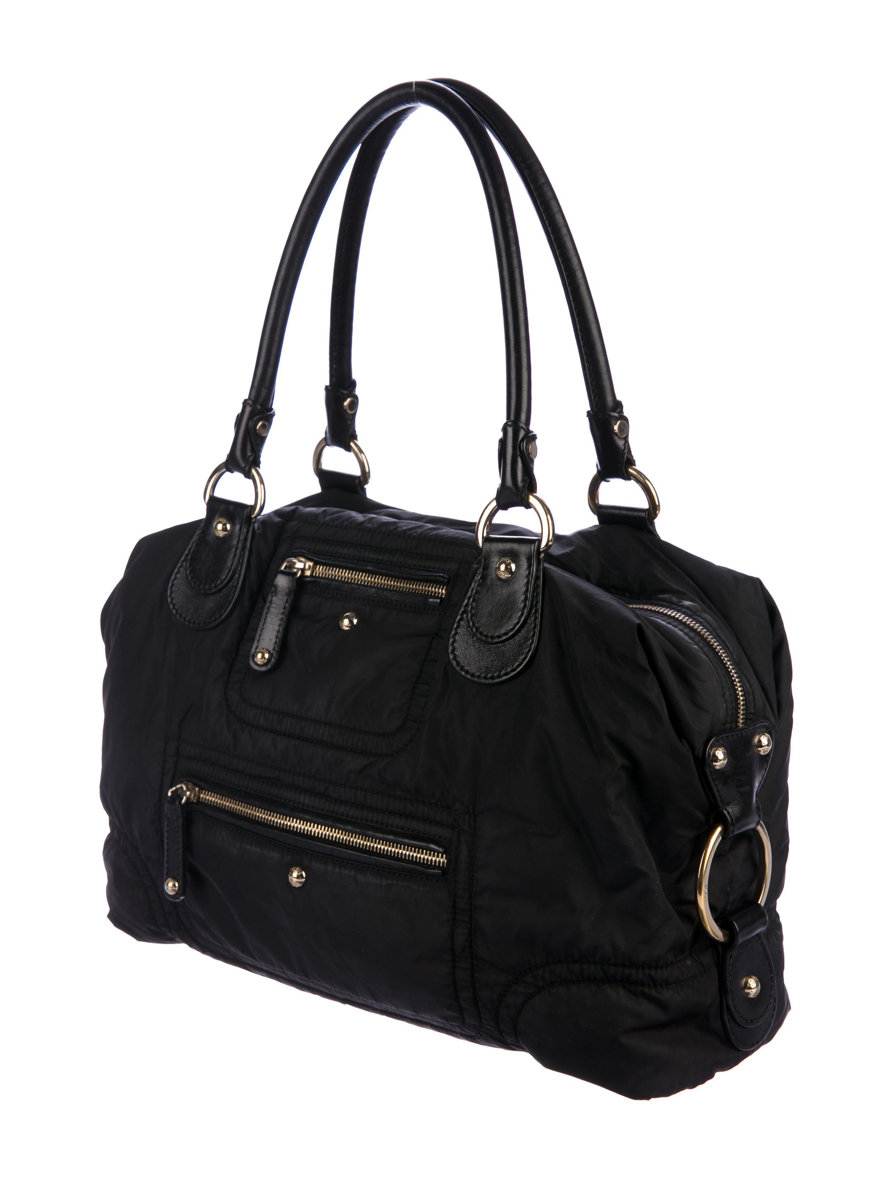 248d0f31dd8 Lyst - Tod'S Luna Pashmy Bag Black in Metallic