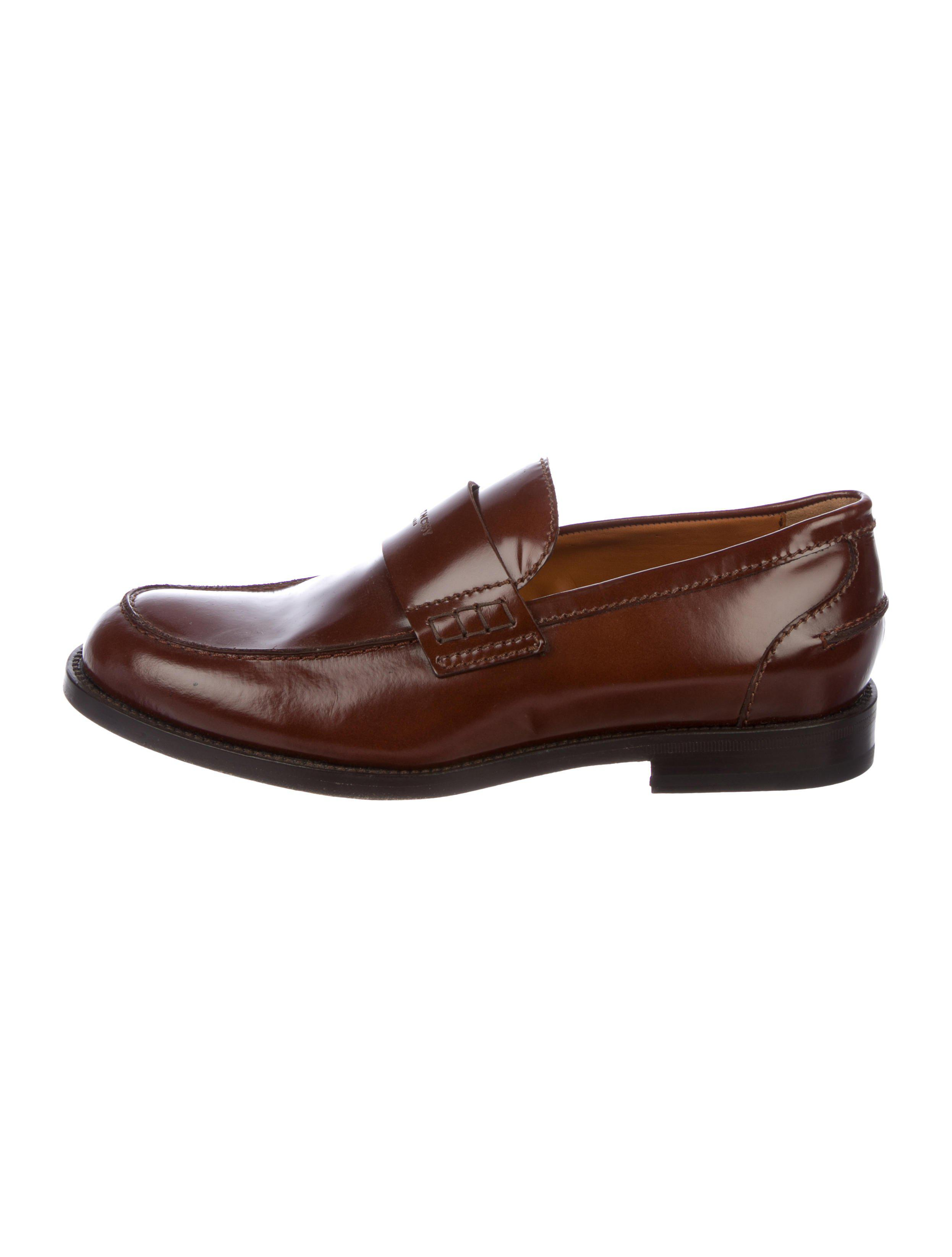 Givenchy Logo Round-Toe Loafers cheap sale outlet locations online sale ofhsH