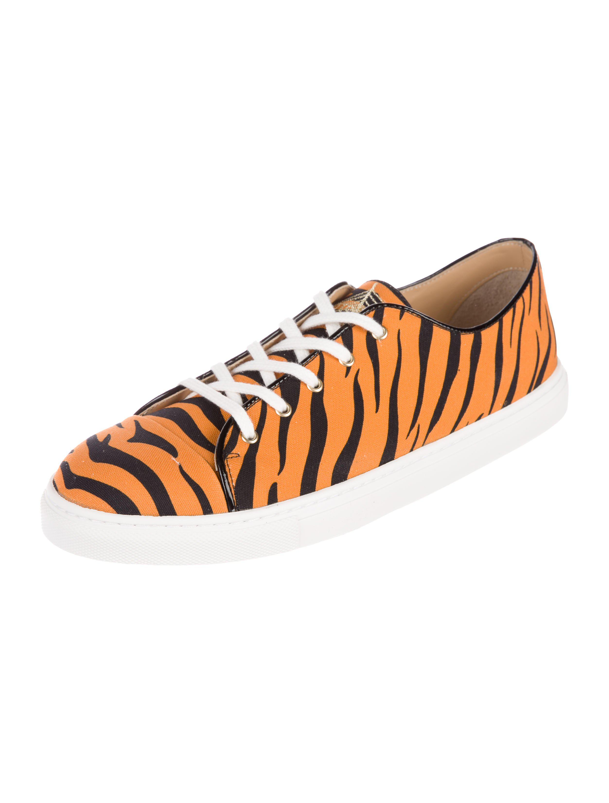 Charlotte Olympia Tiger Printed Sneakers looking for sale free shipping quality from china wholesale cVJEngh