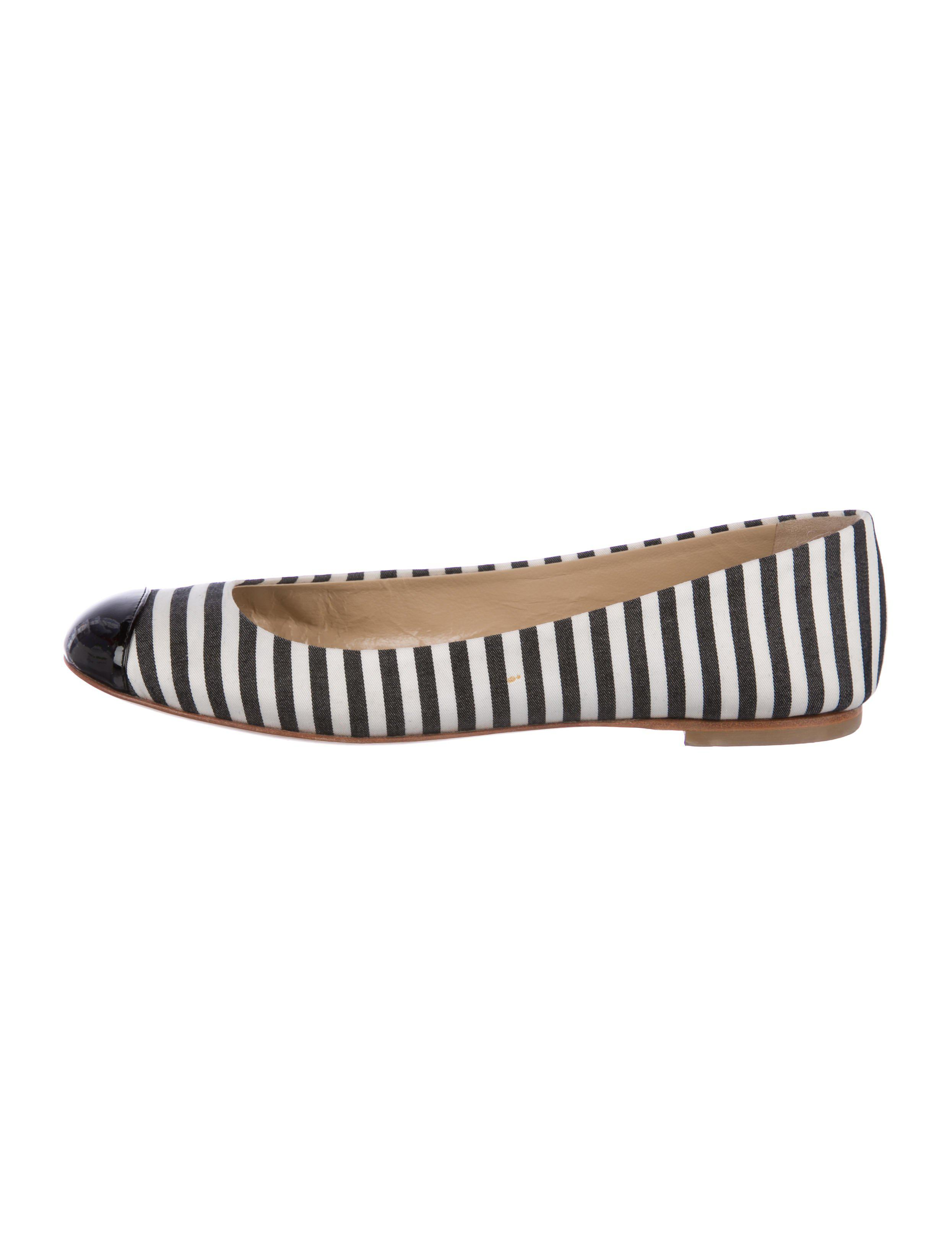 Giuseppe Zanotti Woven Cap-Toe Flats authentic cheap price AsMkmn