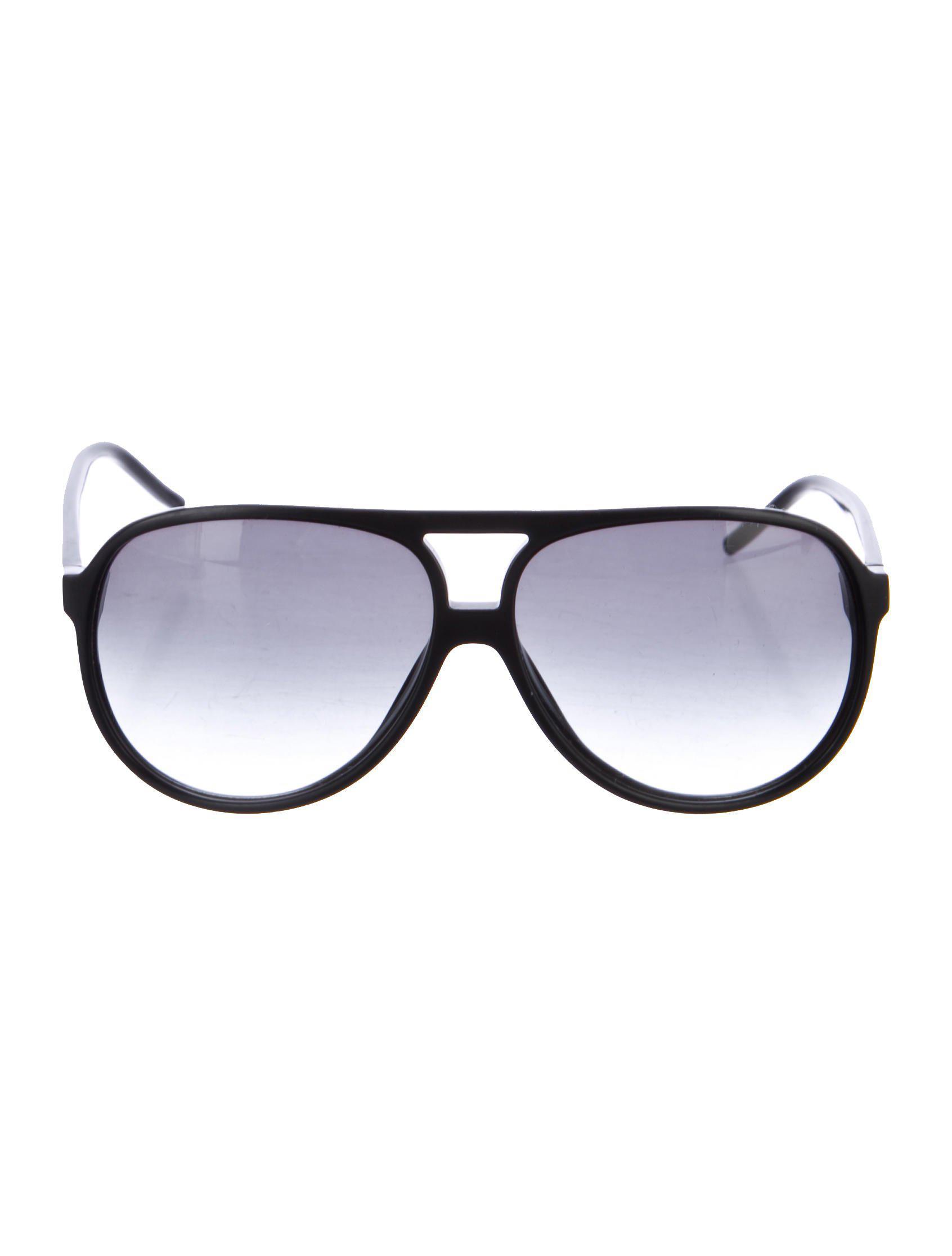 951cd5d6b8 Lyst - Dior Homme Gradient Aviator Sunglasses in Black
