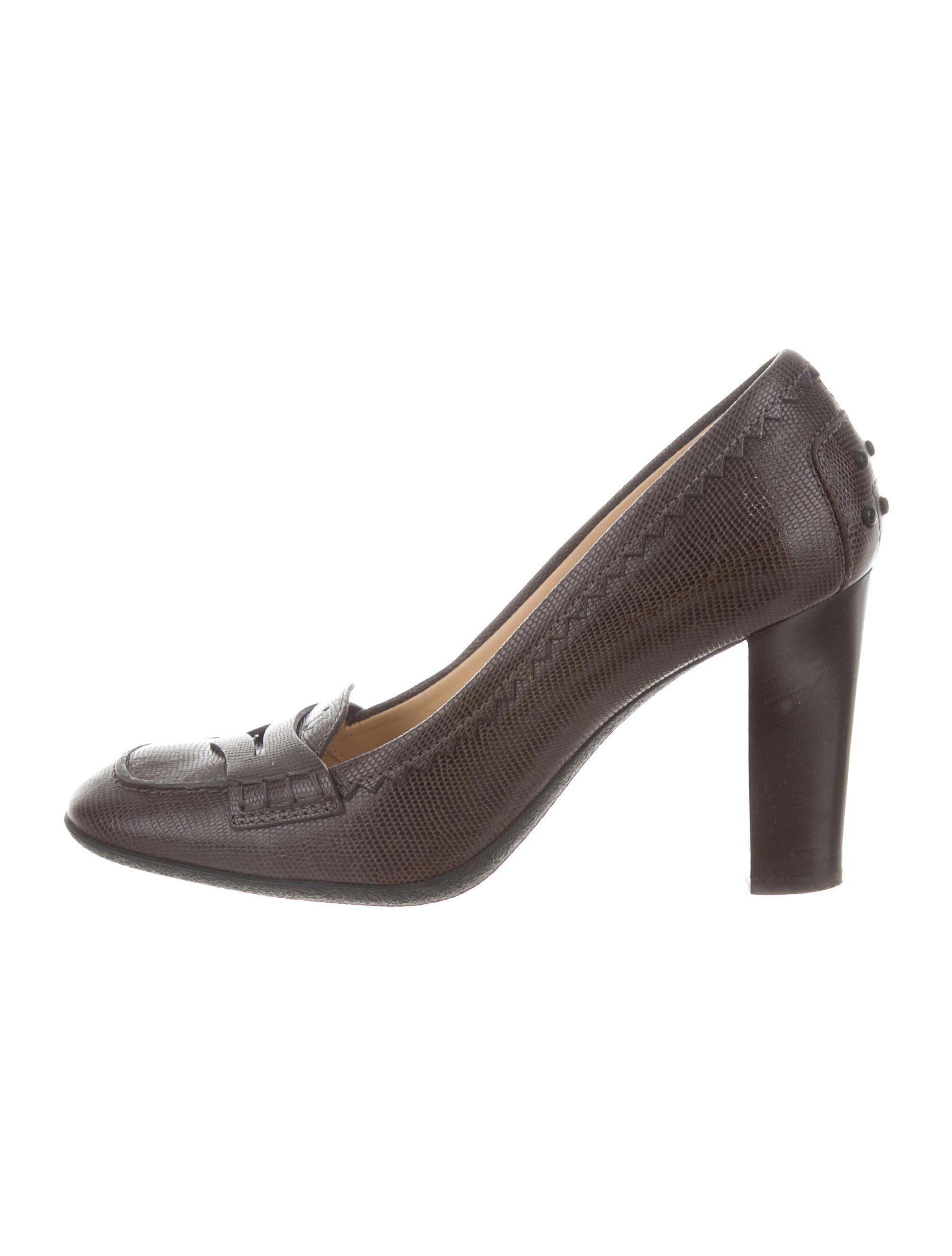Tod's Jodie Embossed Pumps cheap sale view U2A3zY5L