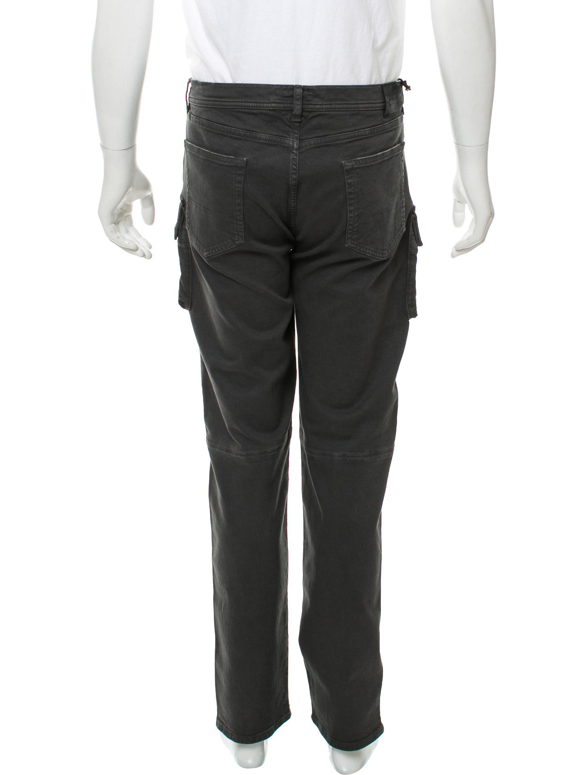 f633e994dc6c Lyst - Belstaff Cropped Utility Pants W  Tags Grey in Gray for Men