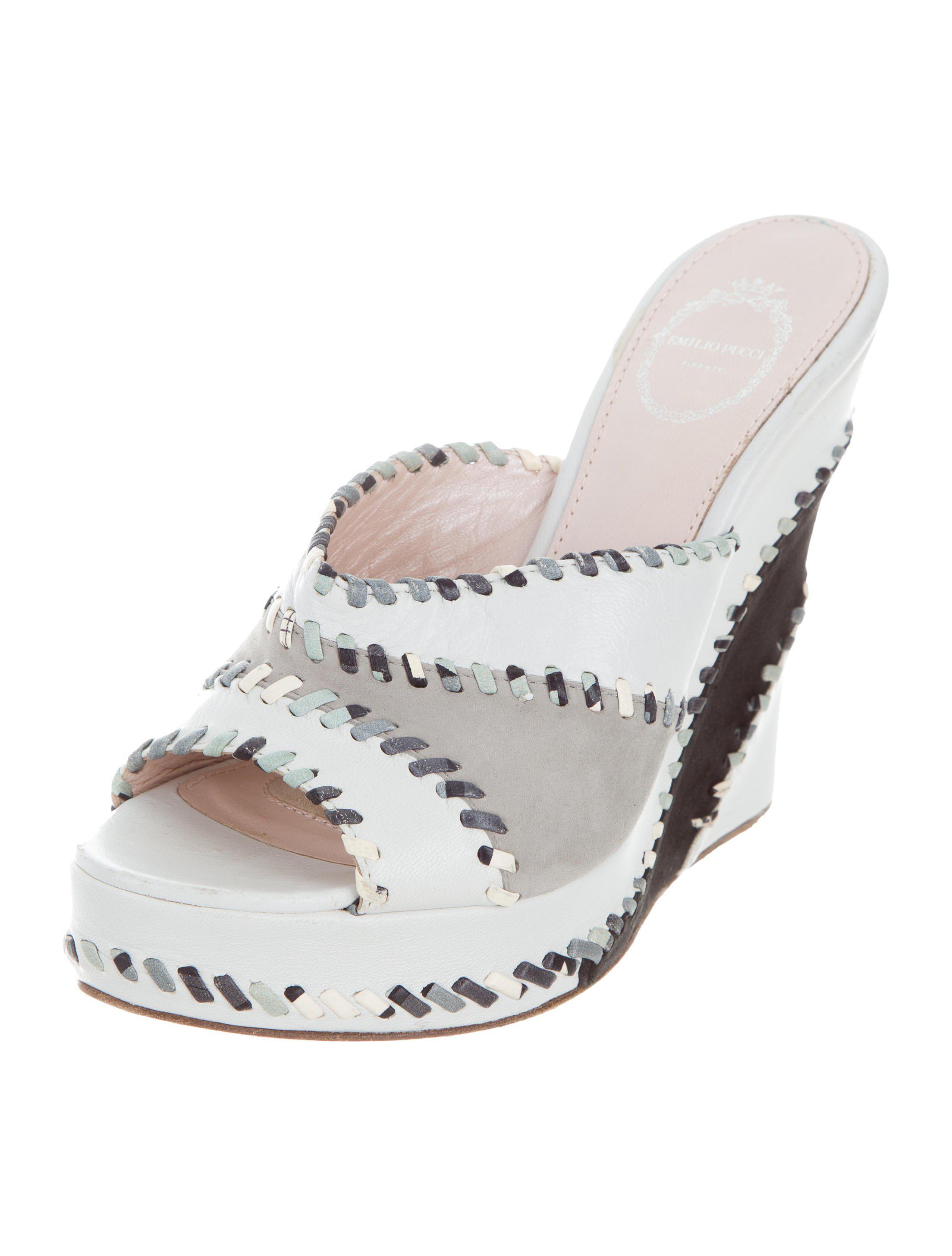 Emilio Pucci Platform Slide Sandals choice for sale shop offer cheap price free shipping best sale cheap online largest supplier for sale VIpiIQfa9N