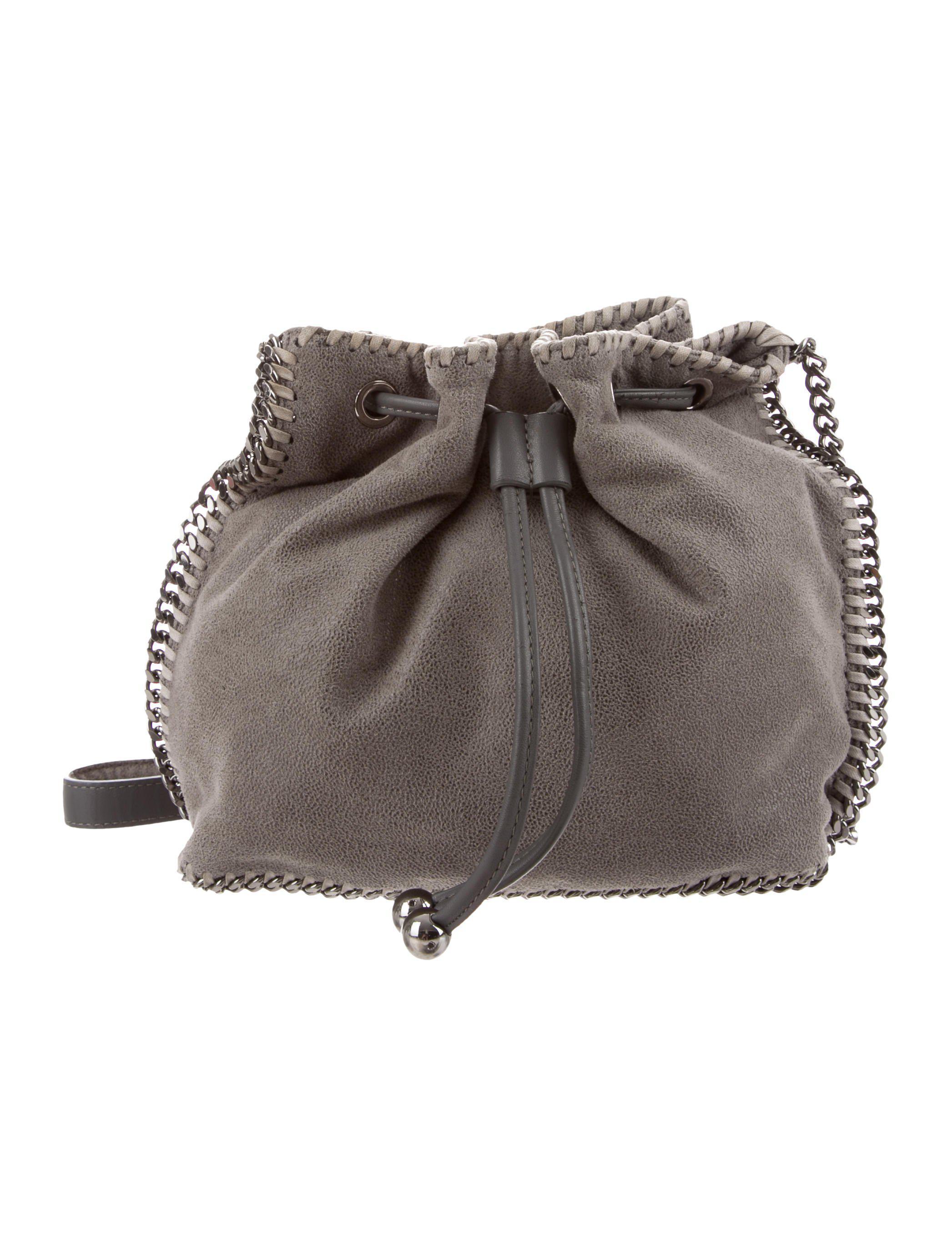 2d0505c8f1a3 Lyst - Stella Mccartney Shaggy Deer Falabella Bucket Bag in Pink