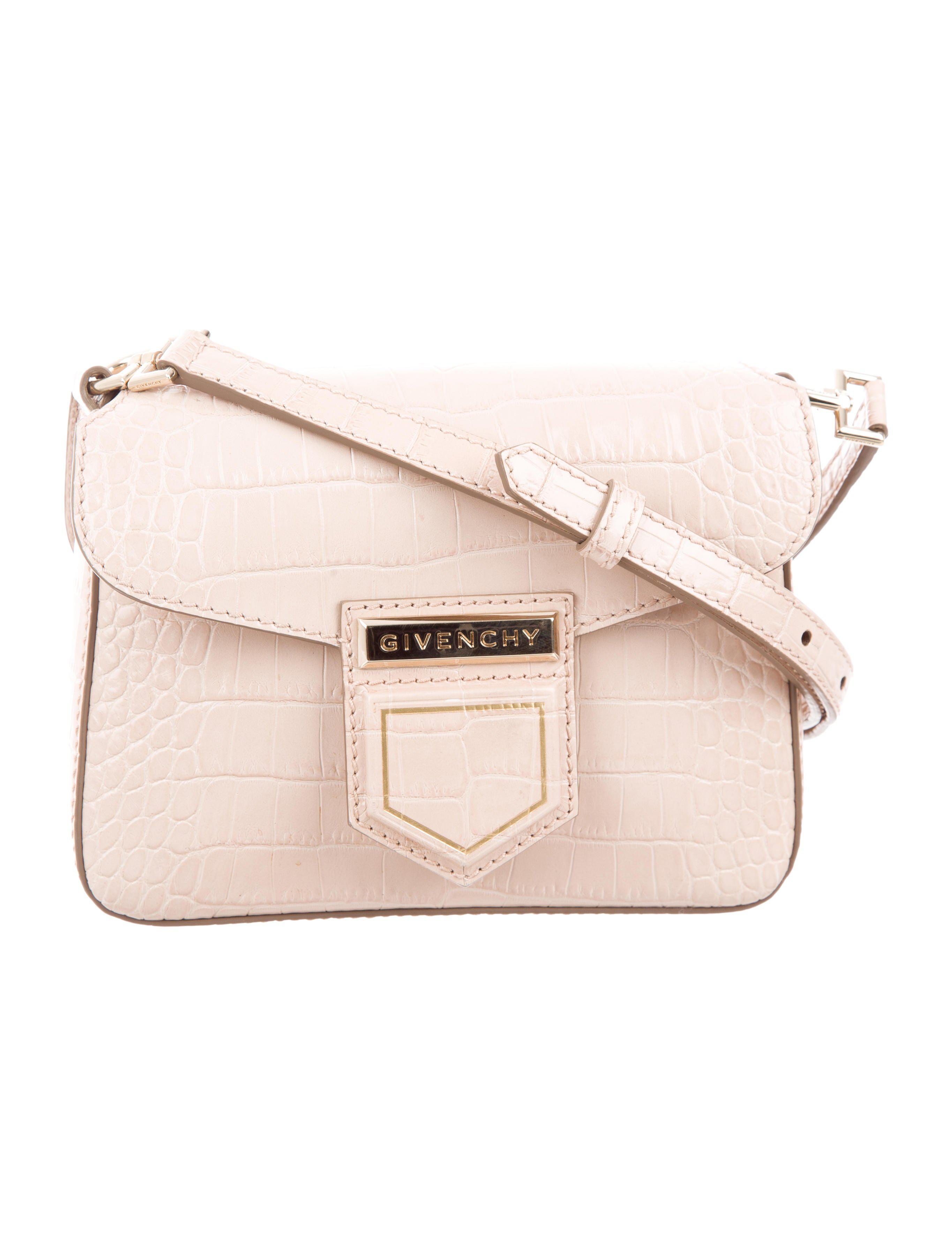Lyst - Givenchy 2017 Small Nobile Crossbody Bag Pink in Metallic 70146a6fae400