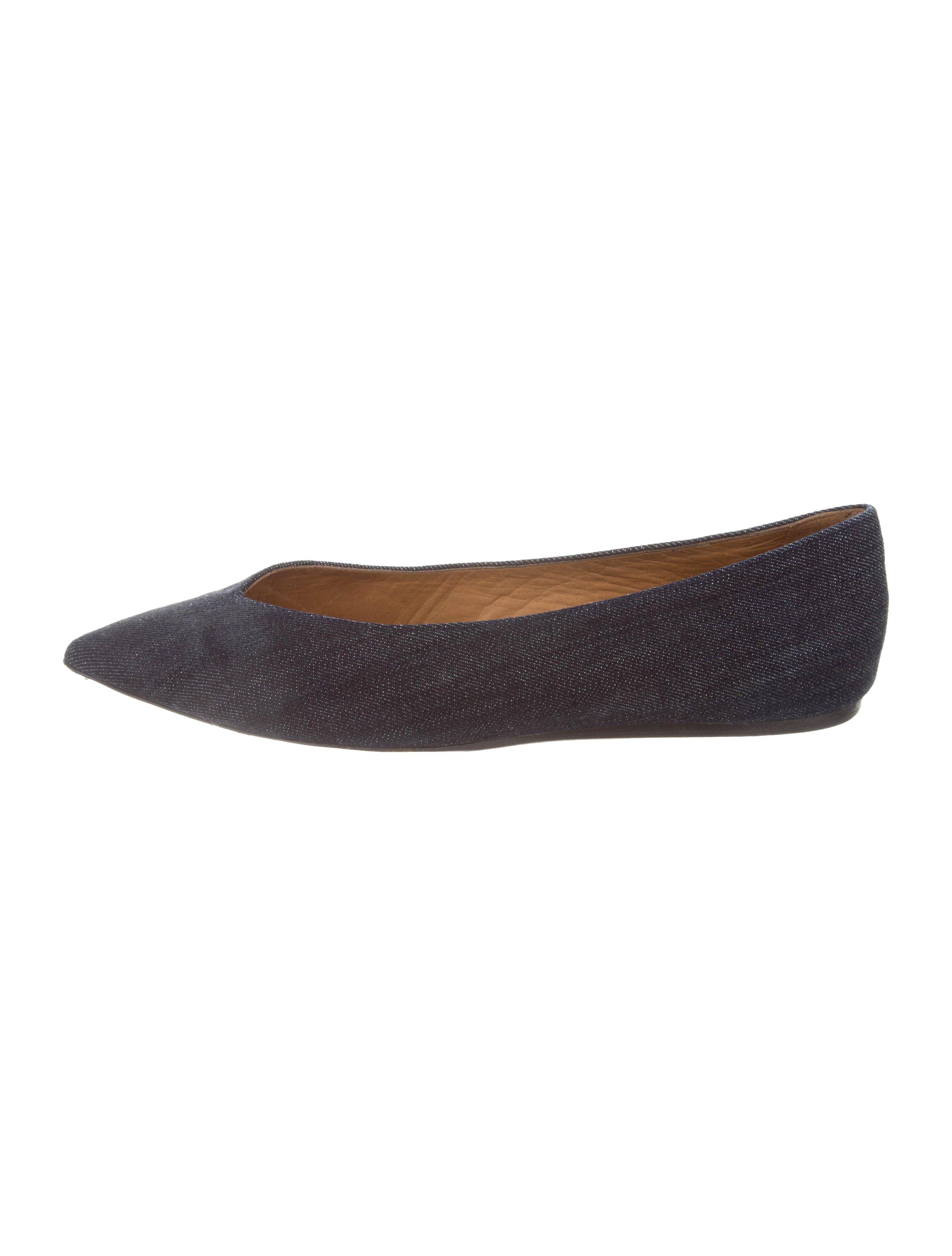 Isabel Marant Pointed-Toe Suede Flats cheap browse cheap sale recommend clearance new top quality for sale uVIZQ1MOq
