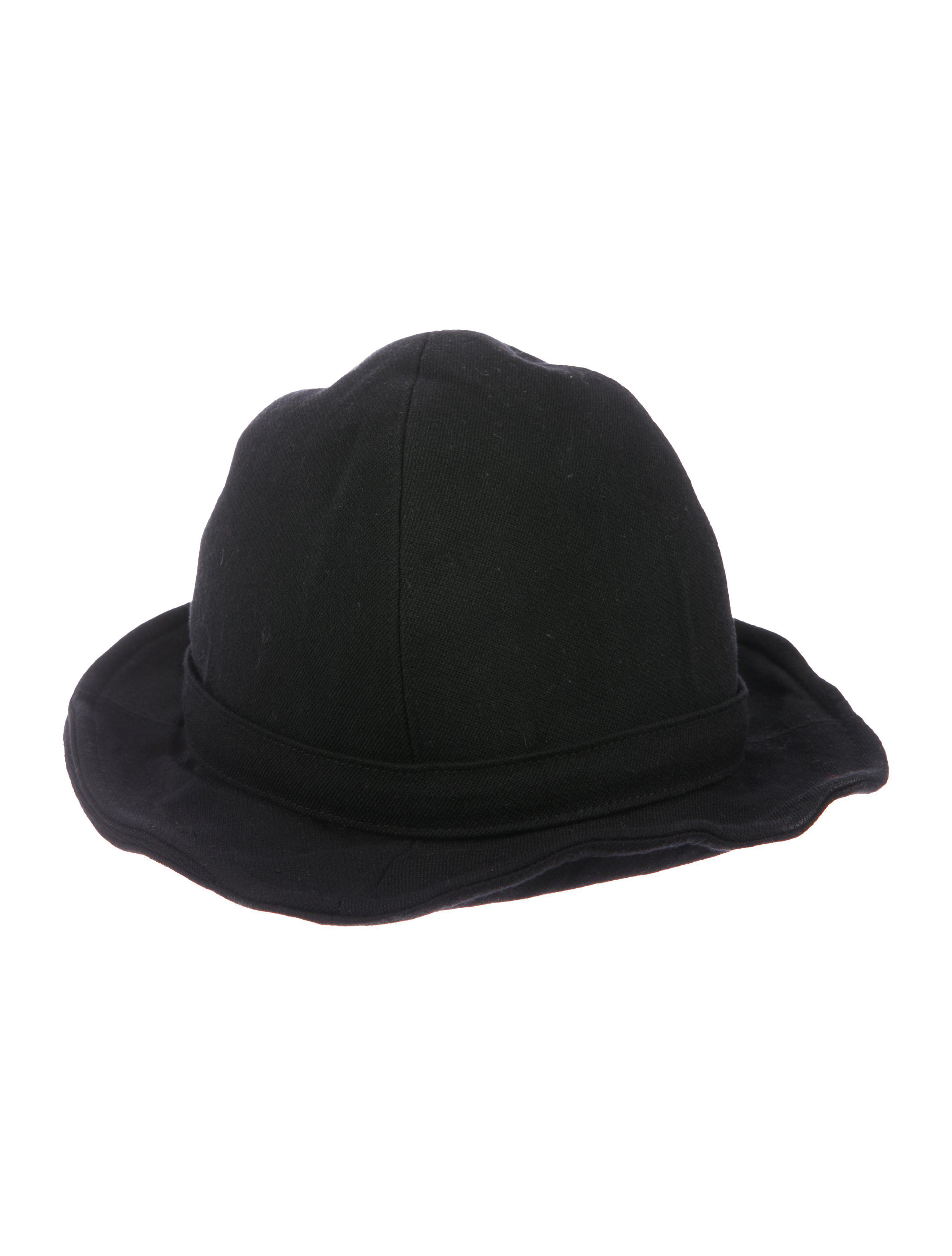7c3e6ba44b5 Lyst - Y S Yohji Yamamoto Wool-blend Fedora Hat in Black for Men