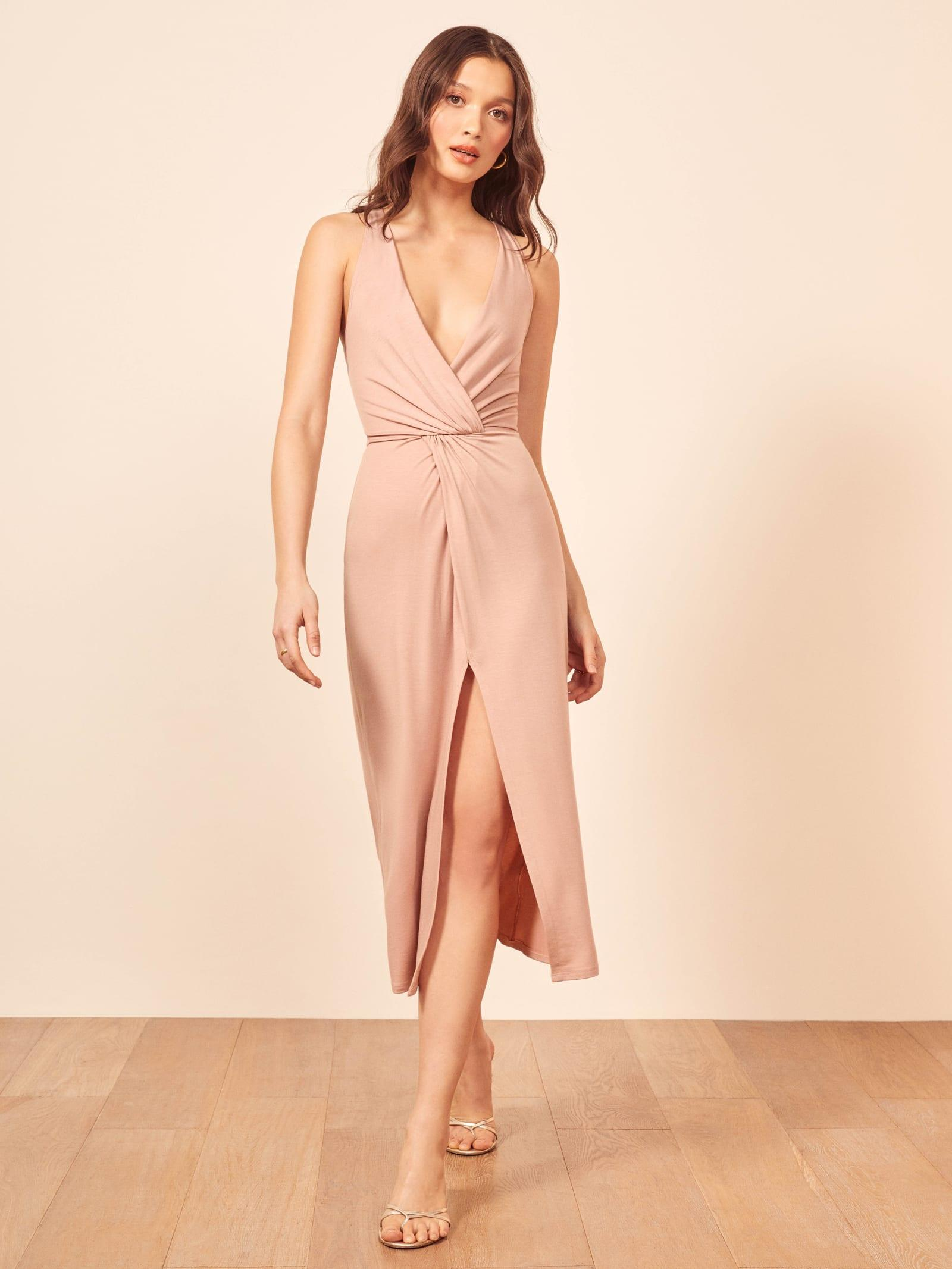 1224e8fbf78 Reformation Fortuna Dress in Pink - Lyst