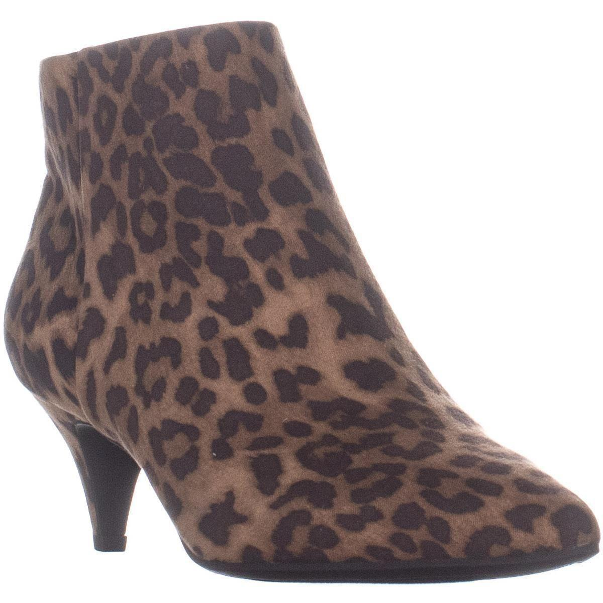 37376ab6f Lyst - Sam Edelman Circus Kirby Kitten Heel Ankle Boots in Brown