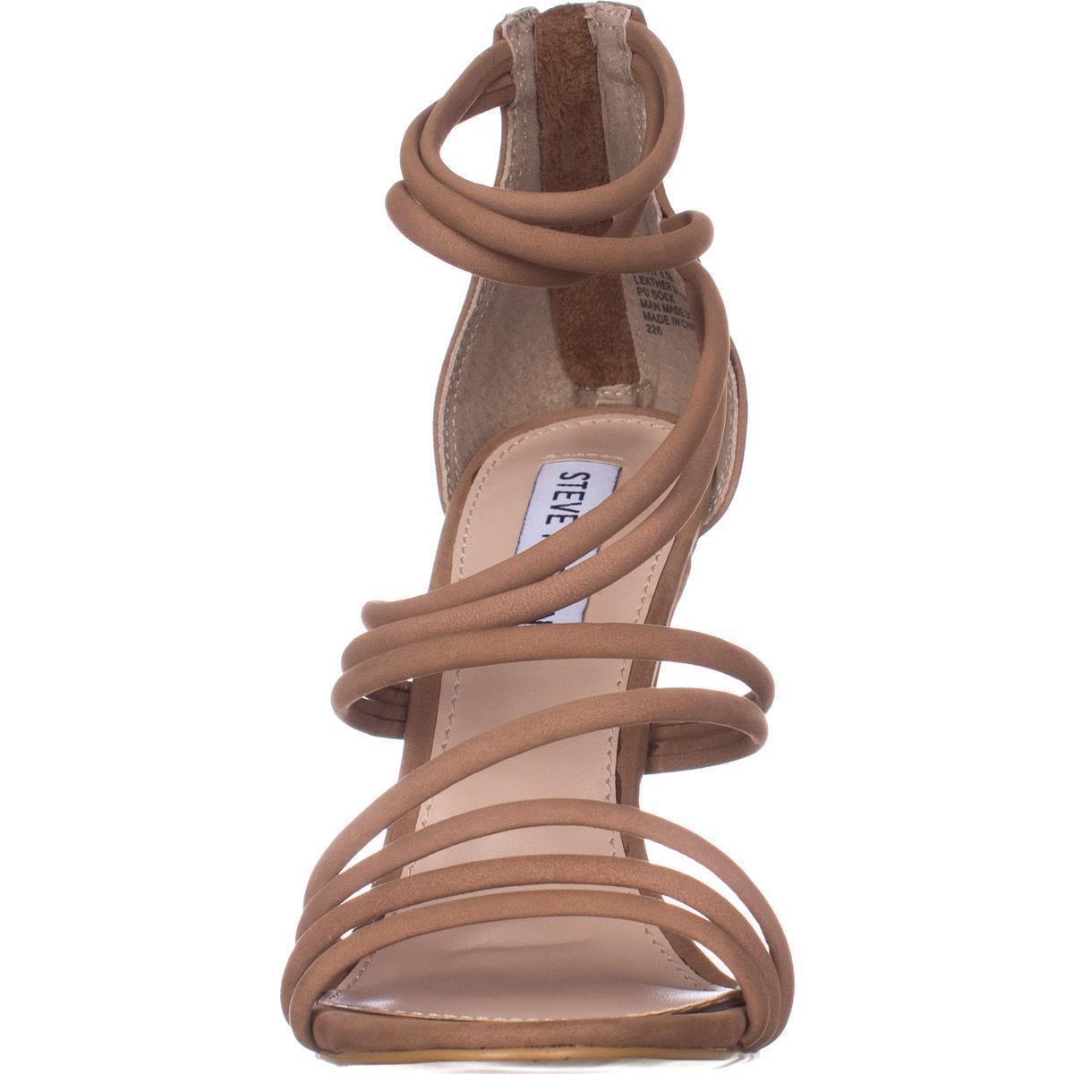 ffa02232de6 Lyst - Steve Madden Santi Strappy Dress Sandals in Brown