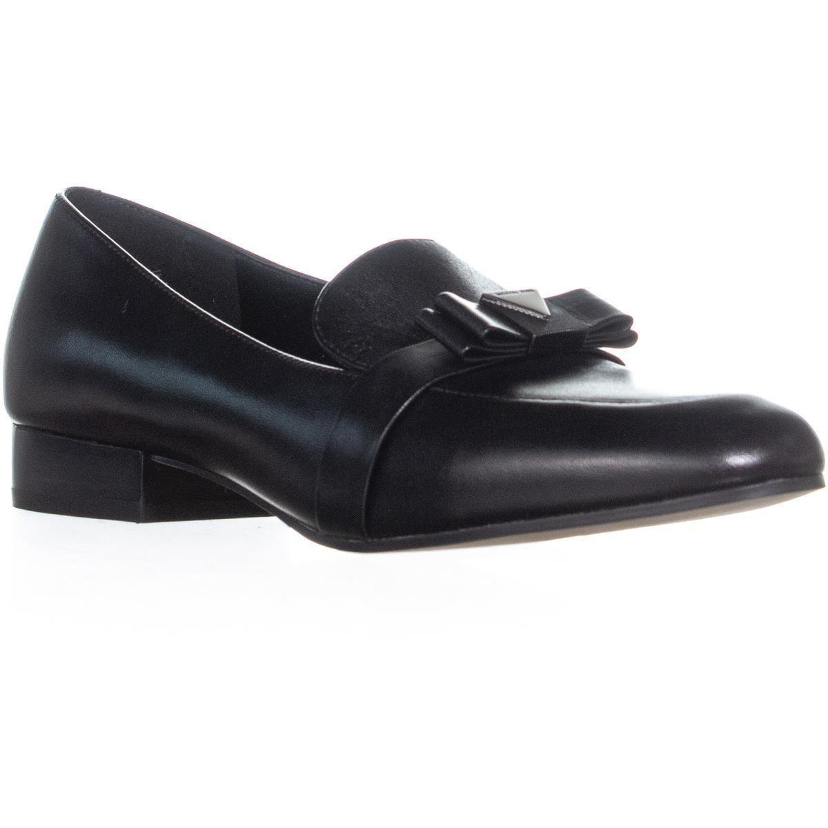c806868afdd Lyst - Michael Kors Caroline Leather Loafer in Black