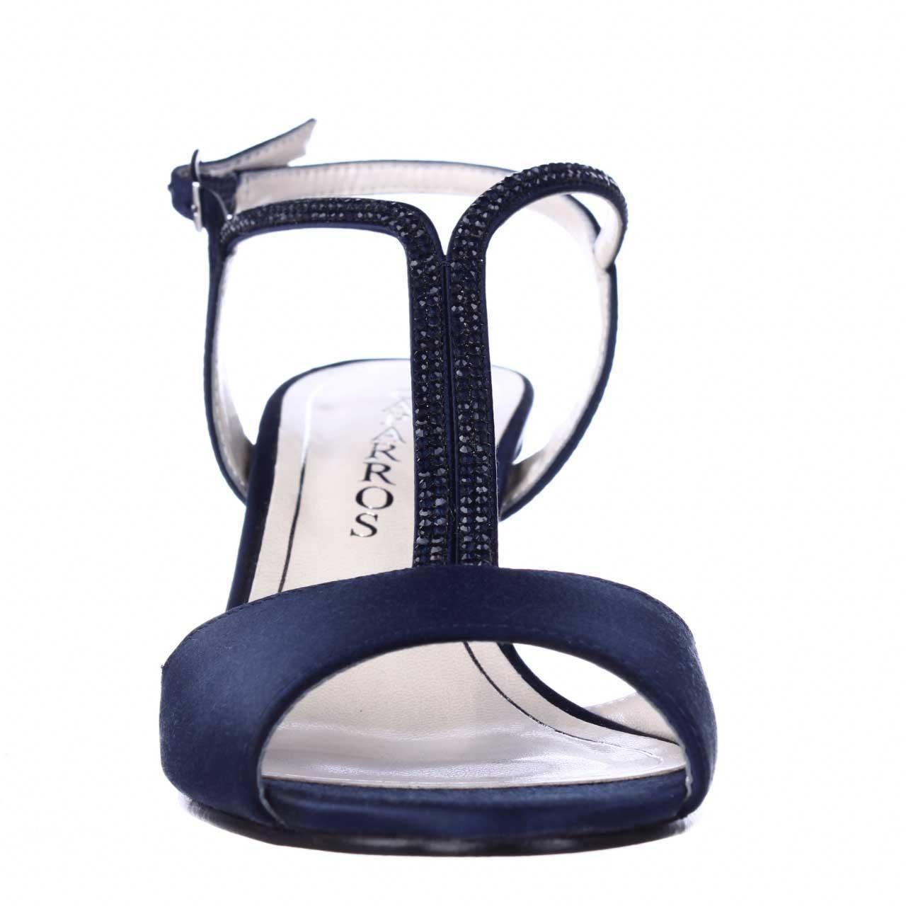eb27308b704 Caparros - Blue Delicia Sparkle T-strap Peep Toe Dress Sandals - Lyst. View  fullscreen