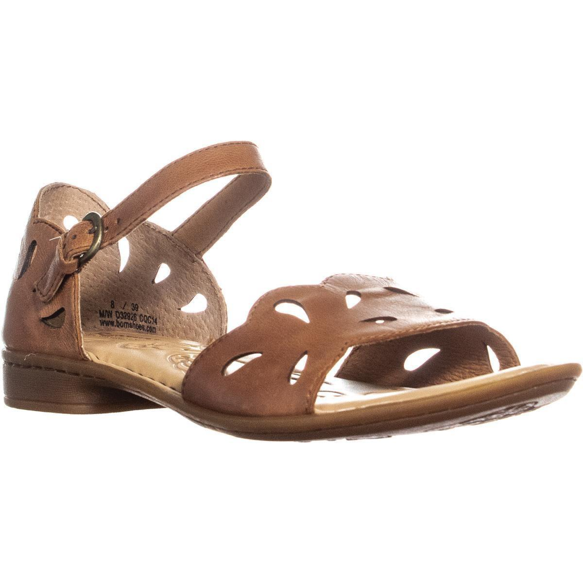 458ff1de4943 Lyst - Born Janya Cut-out Flat Sandals in Brown