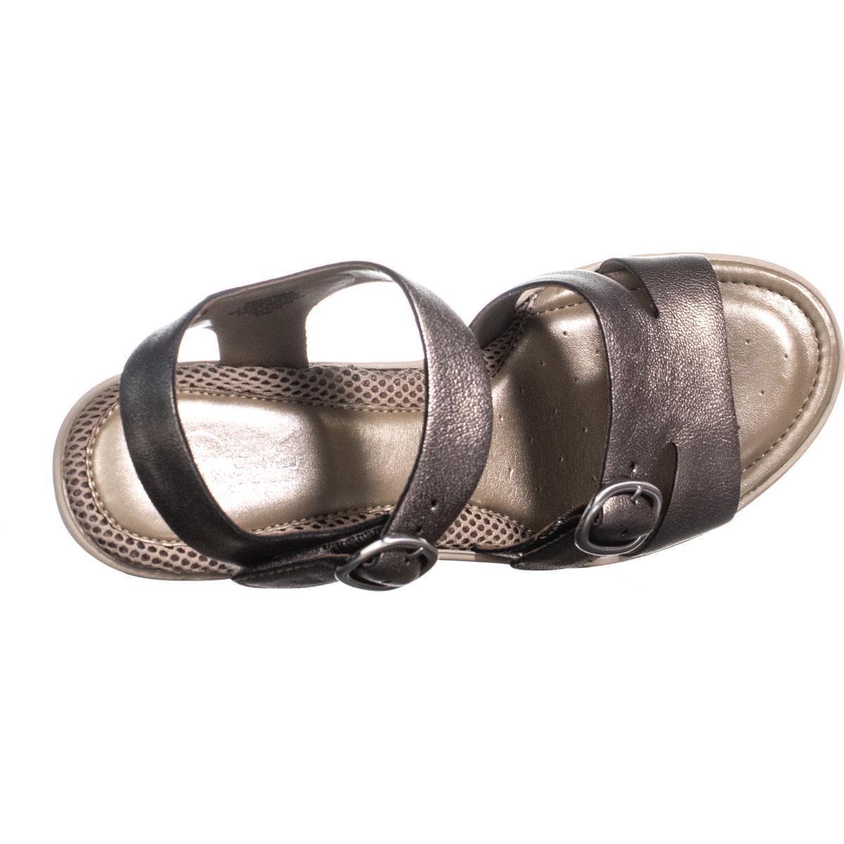 59eca6d9ce3 Lyst - Easy Spirit Charisma Ankle Strap Comfort Wedge Sandals