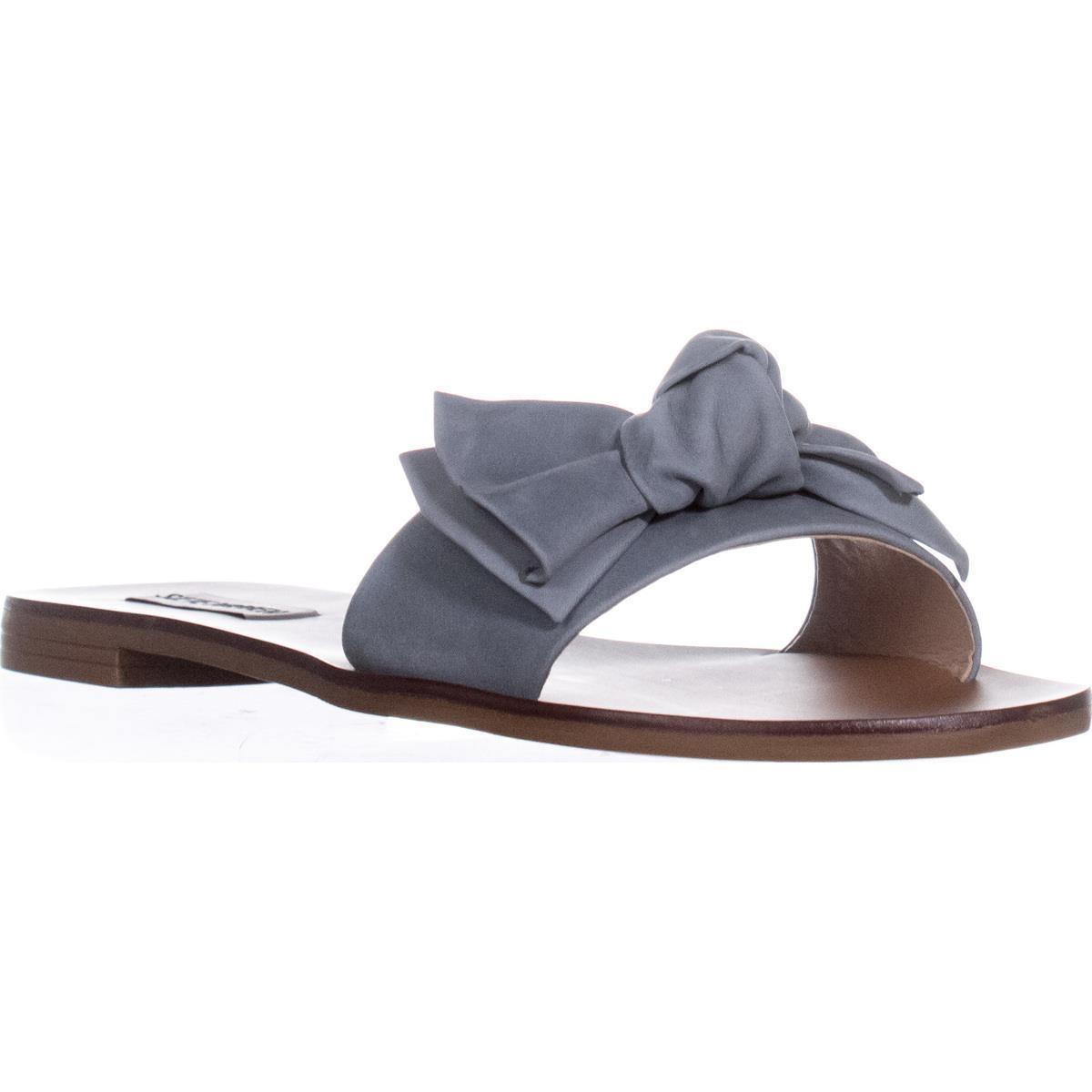 0abd2a2442019d Lyst - Steve Madden Knotss Flat Slide Sandals in Blue