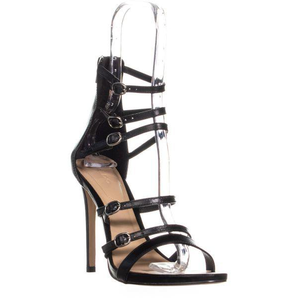 8cd837840a9 Lyst - Aldo Nandra Strappy Sandals in Black - Save 25.531914893617028%