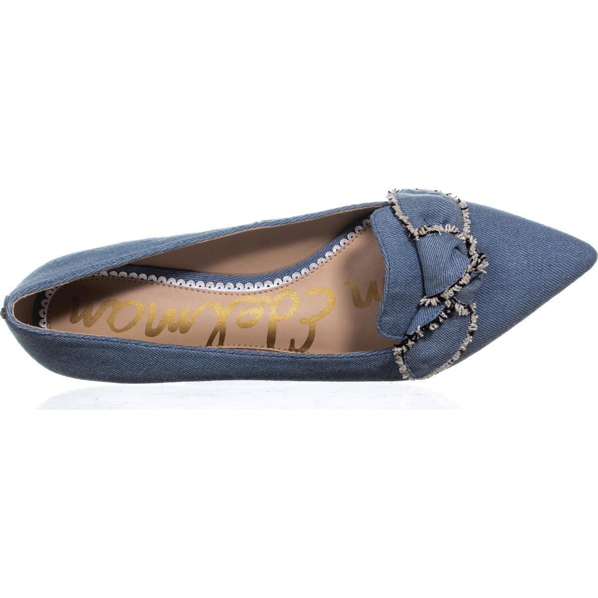 c7fd76125d5c1 Sam Edelman Rochester Ballet Flats in Blue - Lyst
