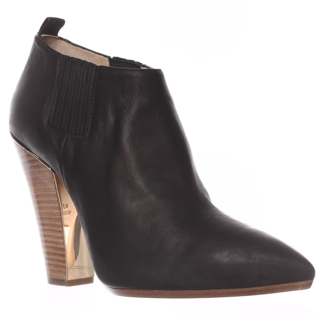 498039a2cc01 Michael Kors Michael Lacy Ankle Boots in Black - Save 47% - Lyst
