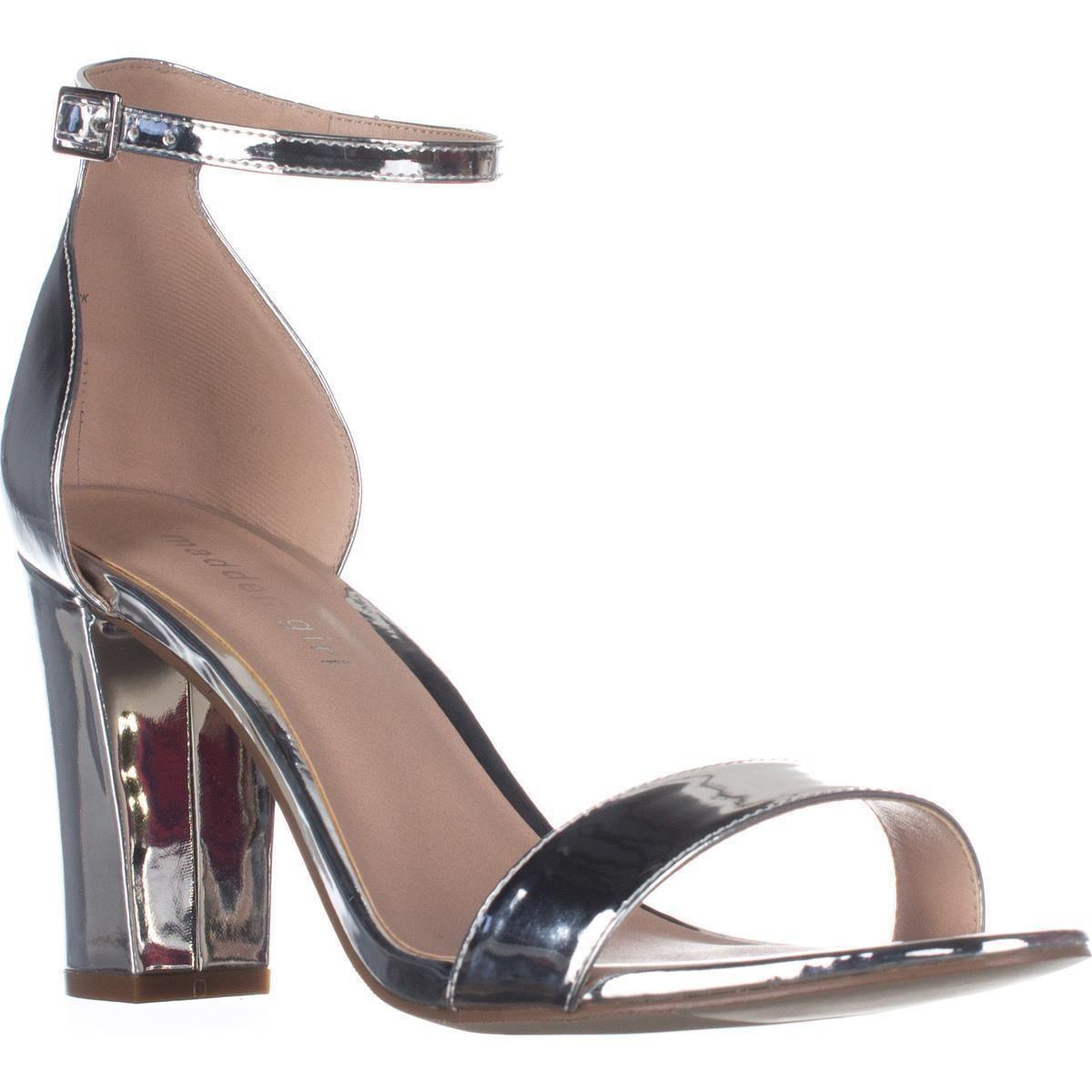 0d878dee586 Lyst - Madden Girl Beella Dress Sandal in Metallic - Save 47%