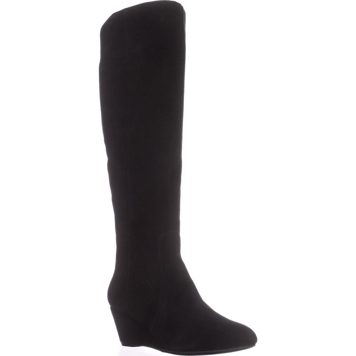 cf896187ed2 Anne Klein Azriel Wedge Knee-high Boots in Black - Lyst