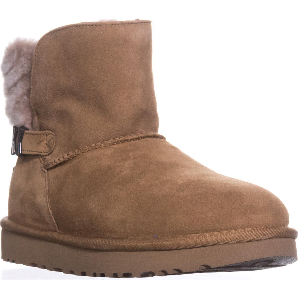 664d91eee2f Ugg - Brown Ugg Adria Winter Ankle Boots - Lyst