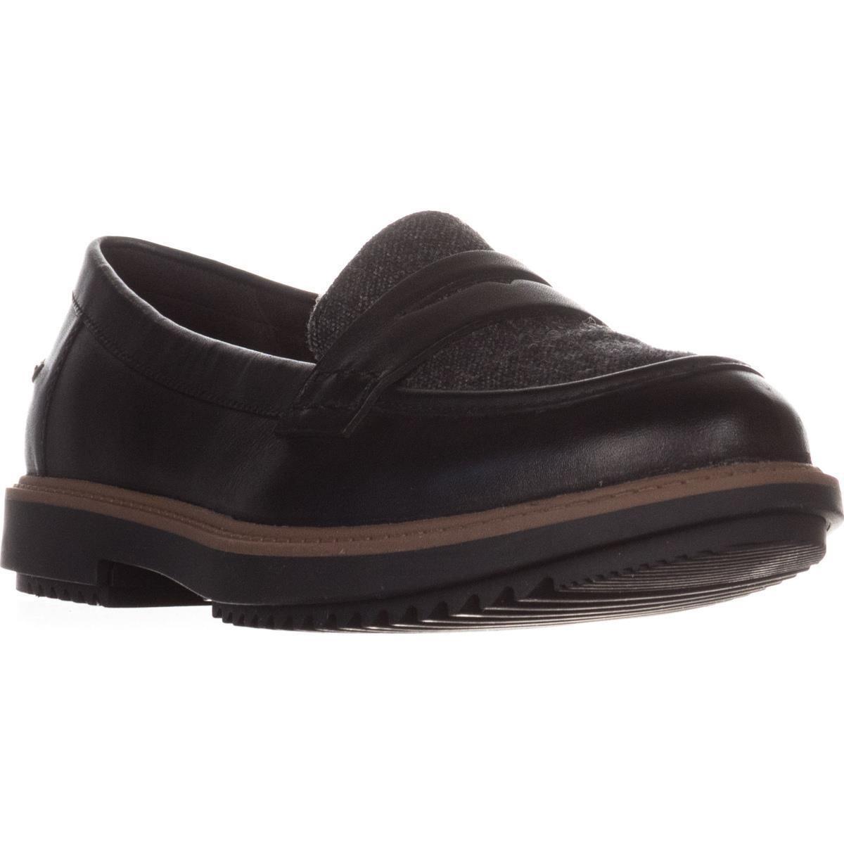 2030d02550a Lyst - Clarks Raisie Eletta Comfort Penny Loafers in Black