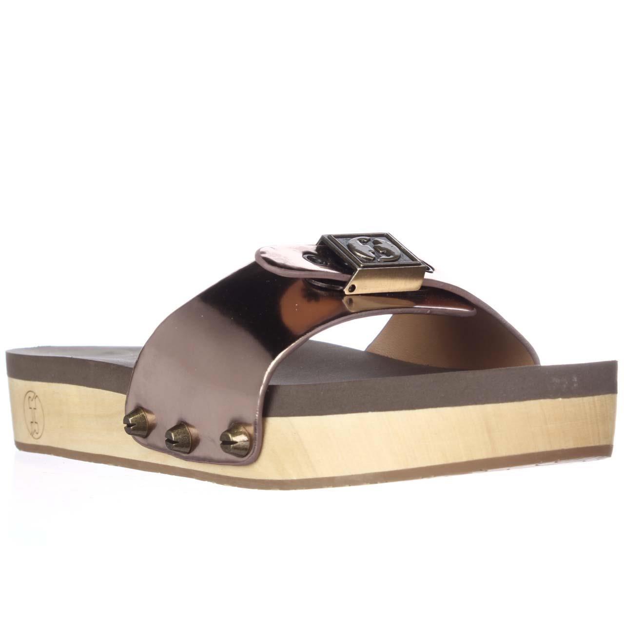 Lyst Flogg Nikita Studded Slide Sandals In Black