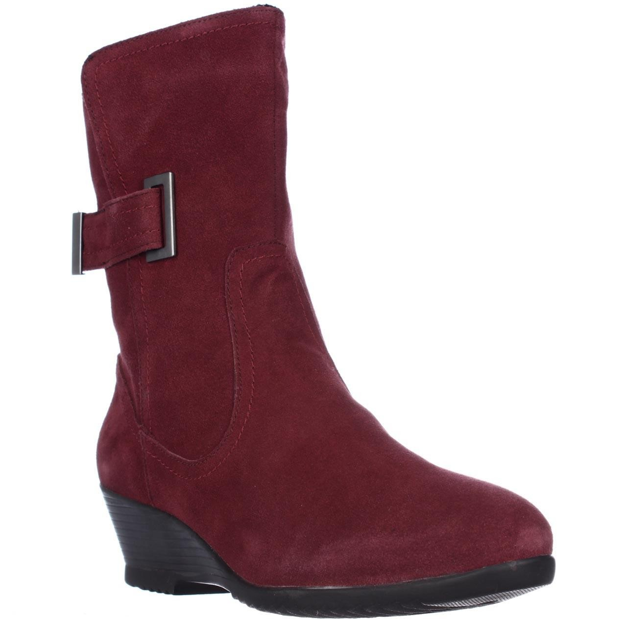 sporto northern wedge mid calf winter boots lyst