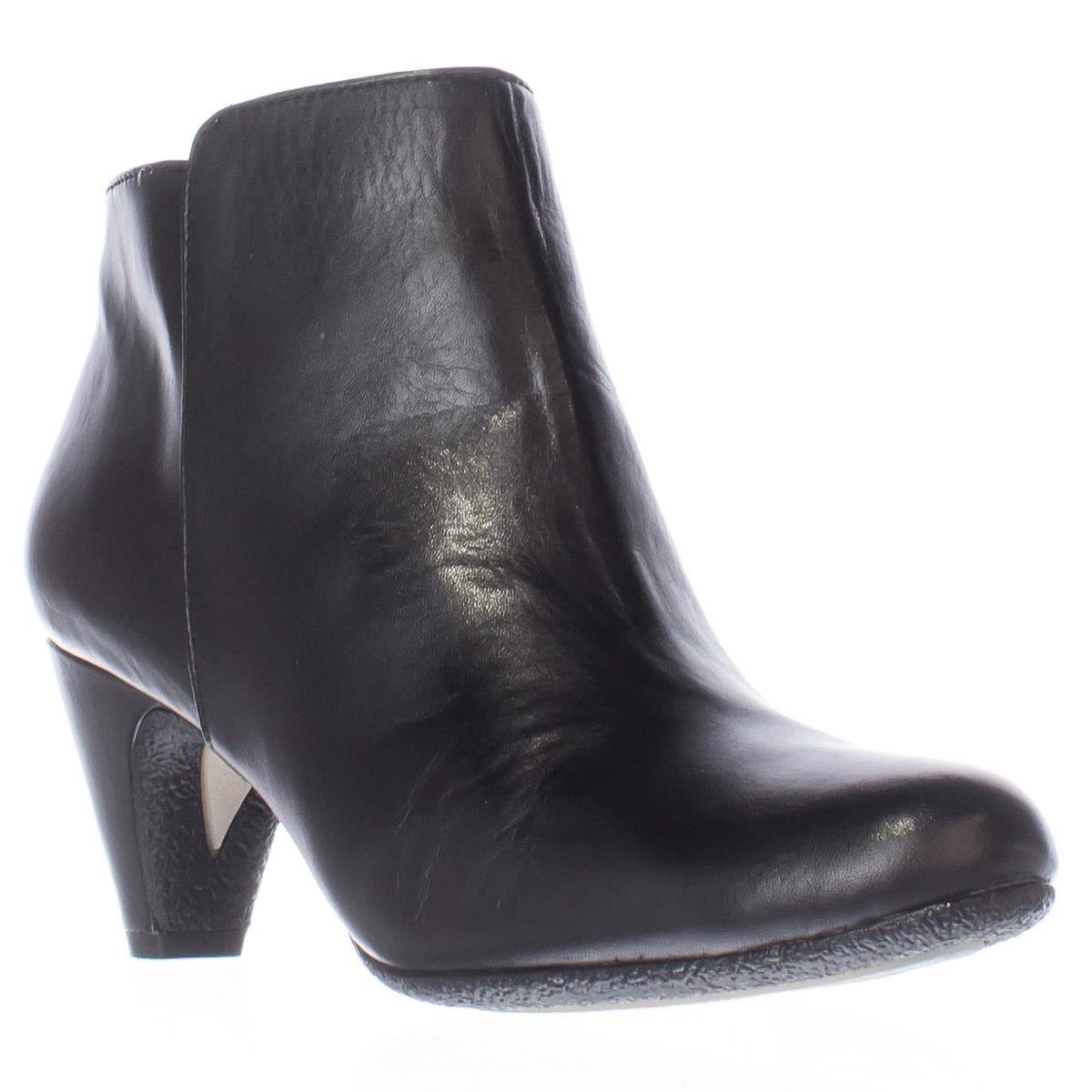 sam edelman meredith dress ankle boots in black lyst